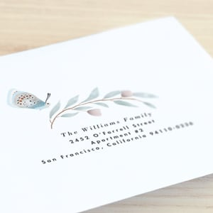Minted Difference: Free Custom Envelopes
