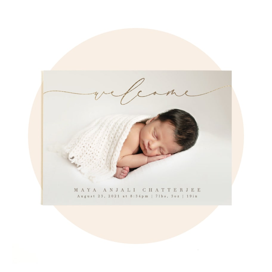 Shop by Category: Birth Announcements