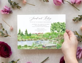 Services: Watercolor Illustrations