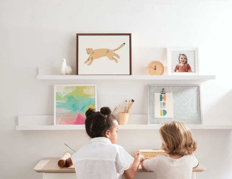Shop children's art