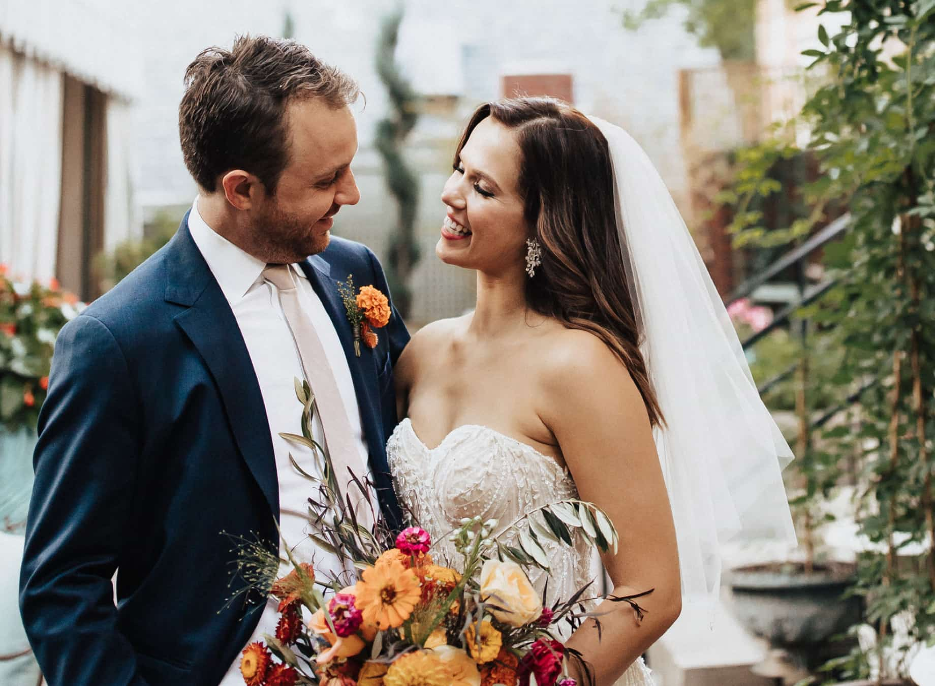 Minted Real Weddings: Caitlin & Nathan