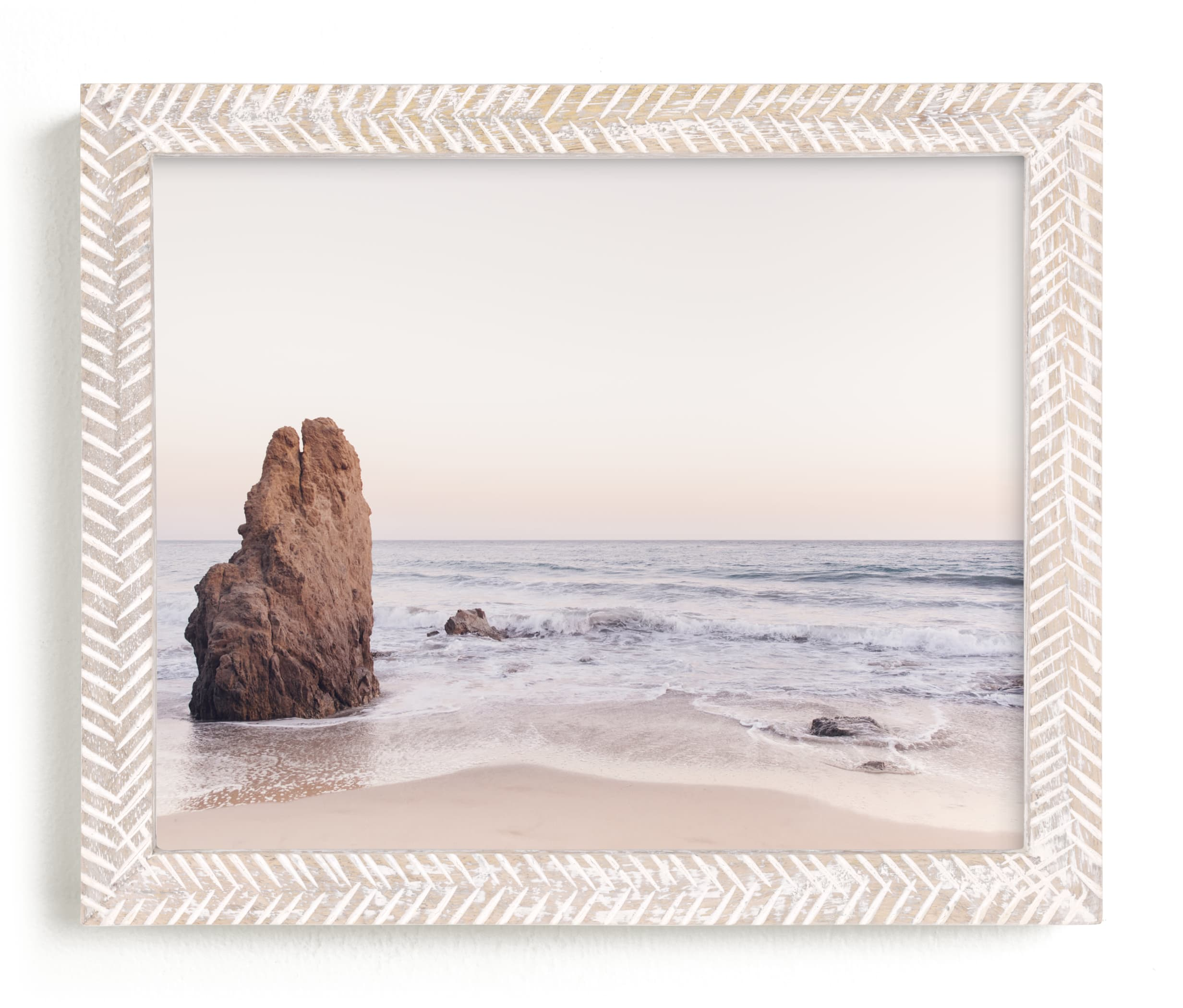 """""""Malibu View No. 2"""" - Limited Edition Art Print by Kamala Nahas in beautiful frame options and a variety of sizes."""
