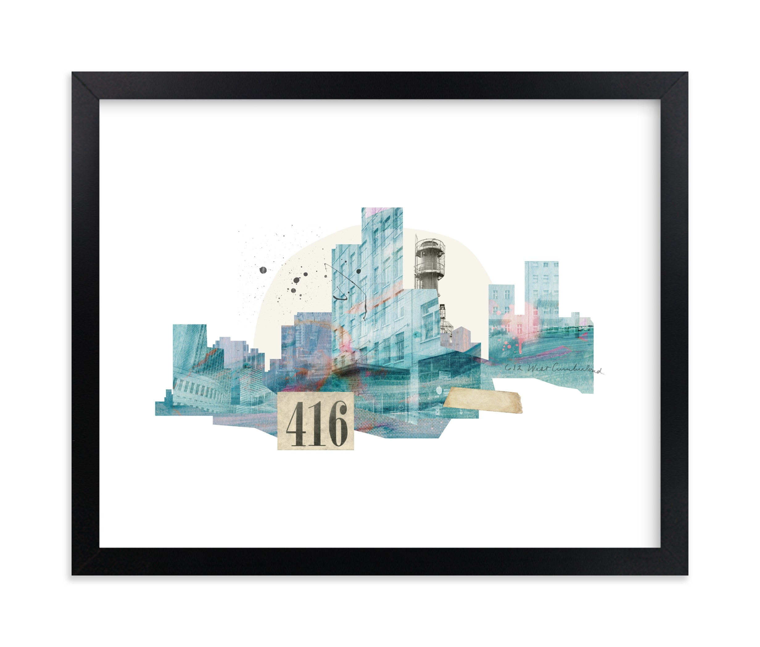 """""""City Dream"""" - Limited Edition Art Print by Field and Sky in beautiful frame options and a variety of sizes."""