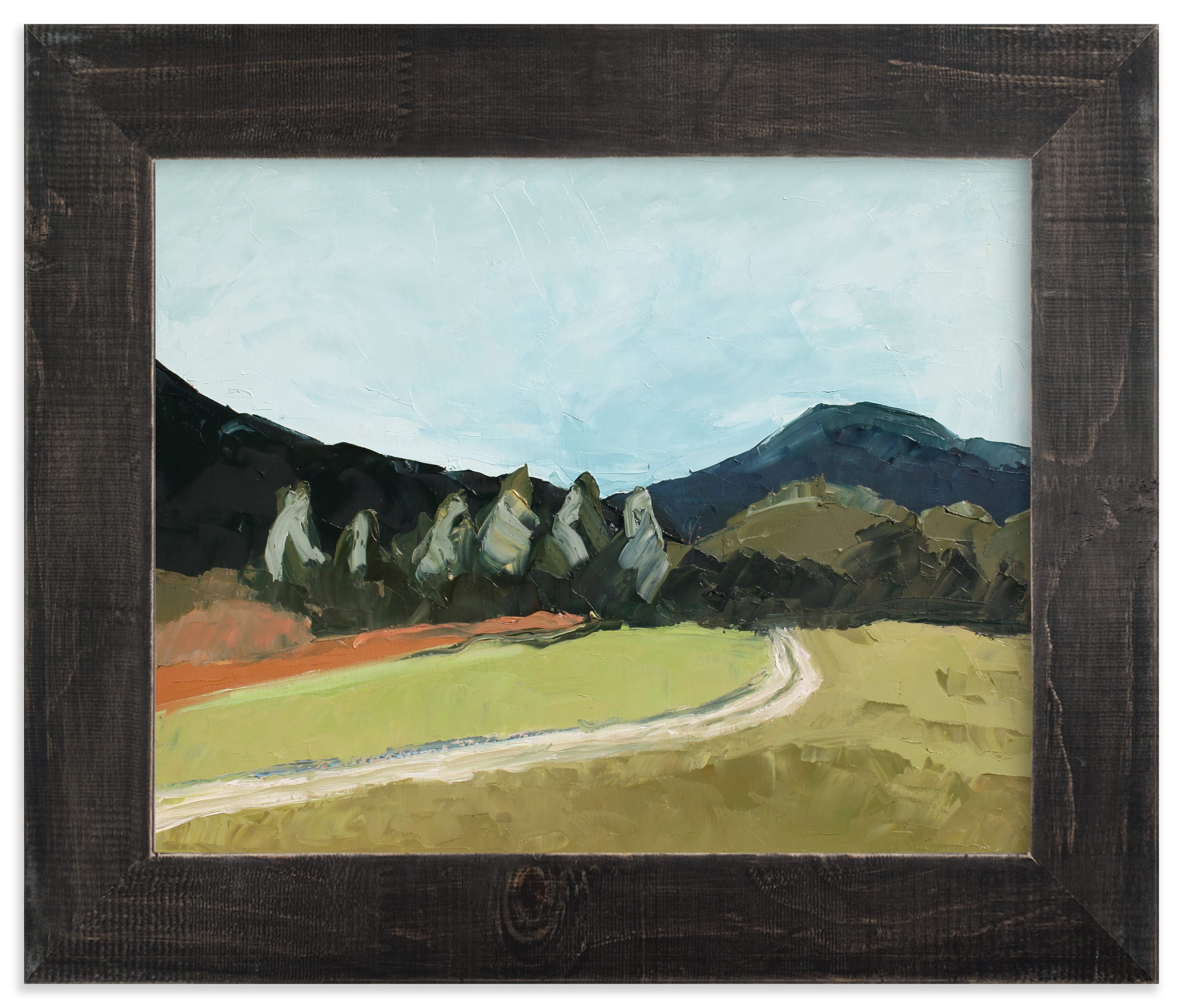 """""""Blue Hills"""" - Limited Edition Art Print by Owen Design Studio in beautiful frame options and a variety of sizes."""