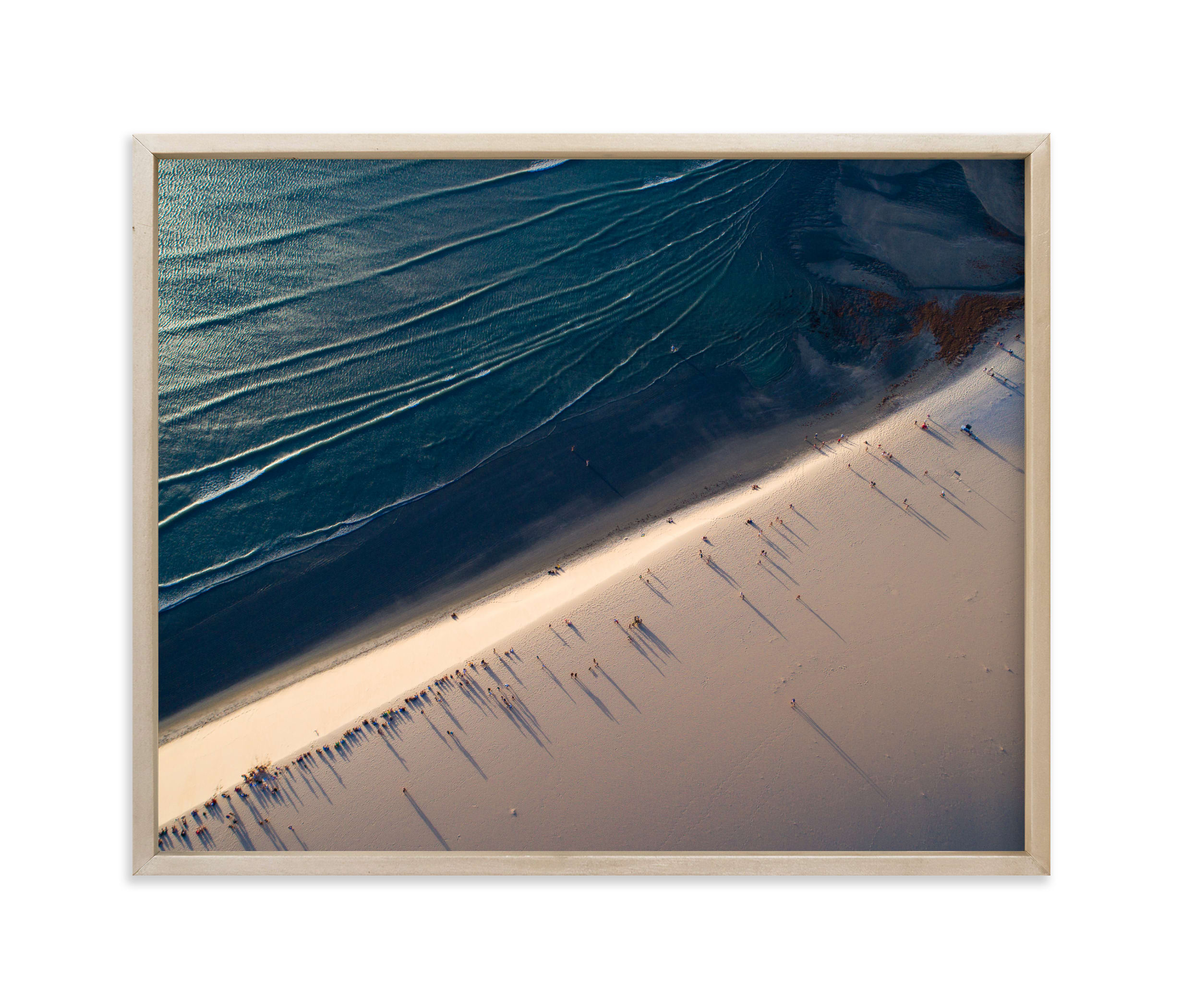 """""""Deep Blue Sea"""" - Limited Edition Art Print by Benno and Noosa in beautiful frame options and a variety of sizes."""