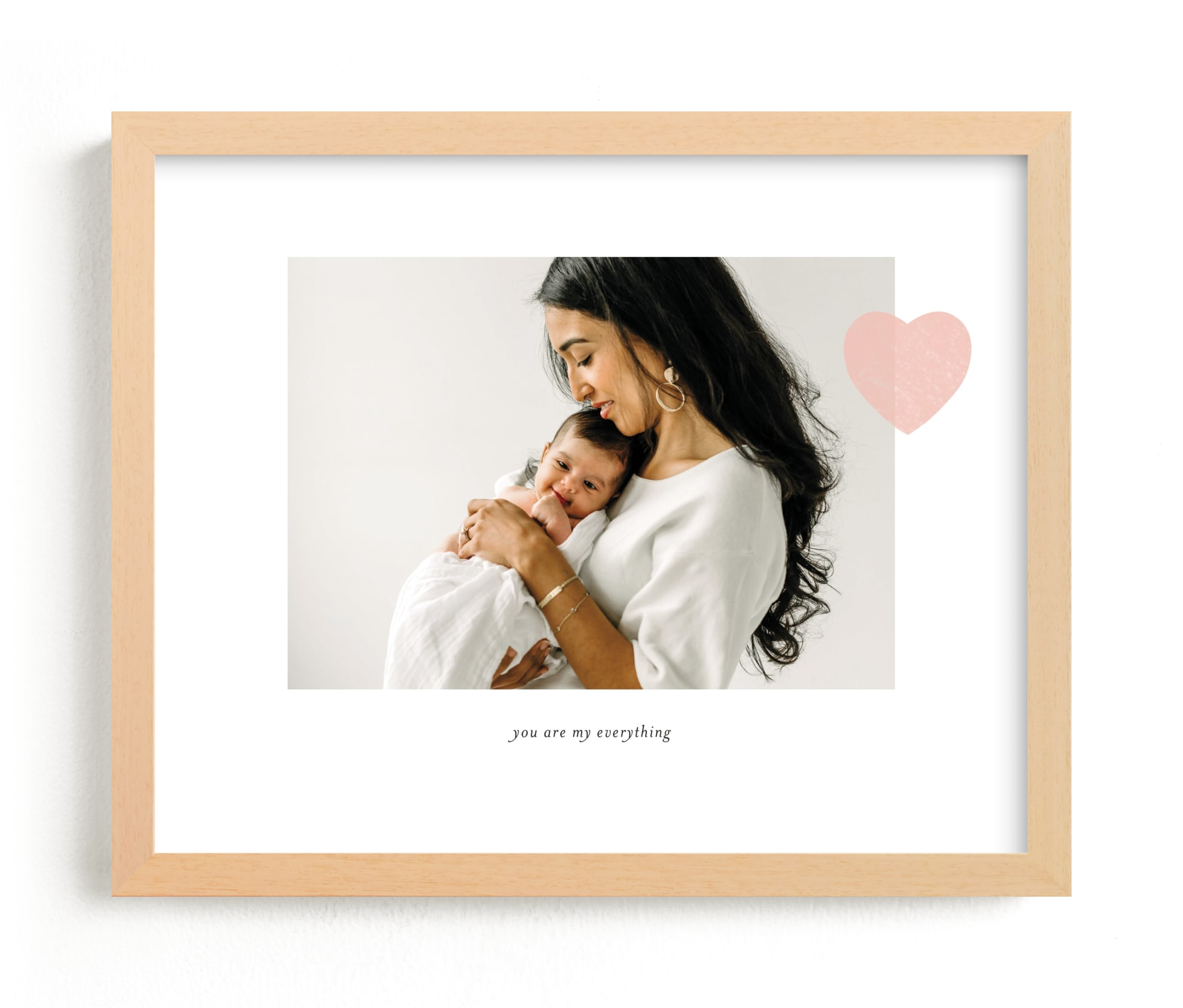 """""""Mom Love - Landscape"""" - Custom Photo Art Print by Sara Hicks Malone in beautiful frame options and a variety of sizes."""