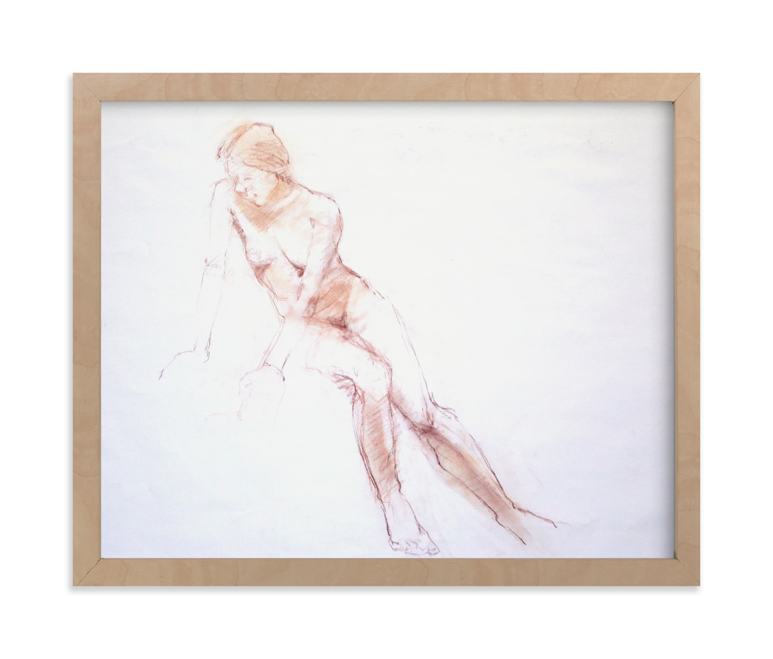"""""""Taking a break"""" - Limited Edition Art Print by Patricia Robitaille in beautiful frame options and a variety of sizes."""
