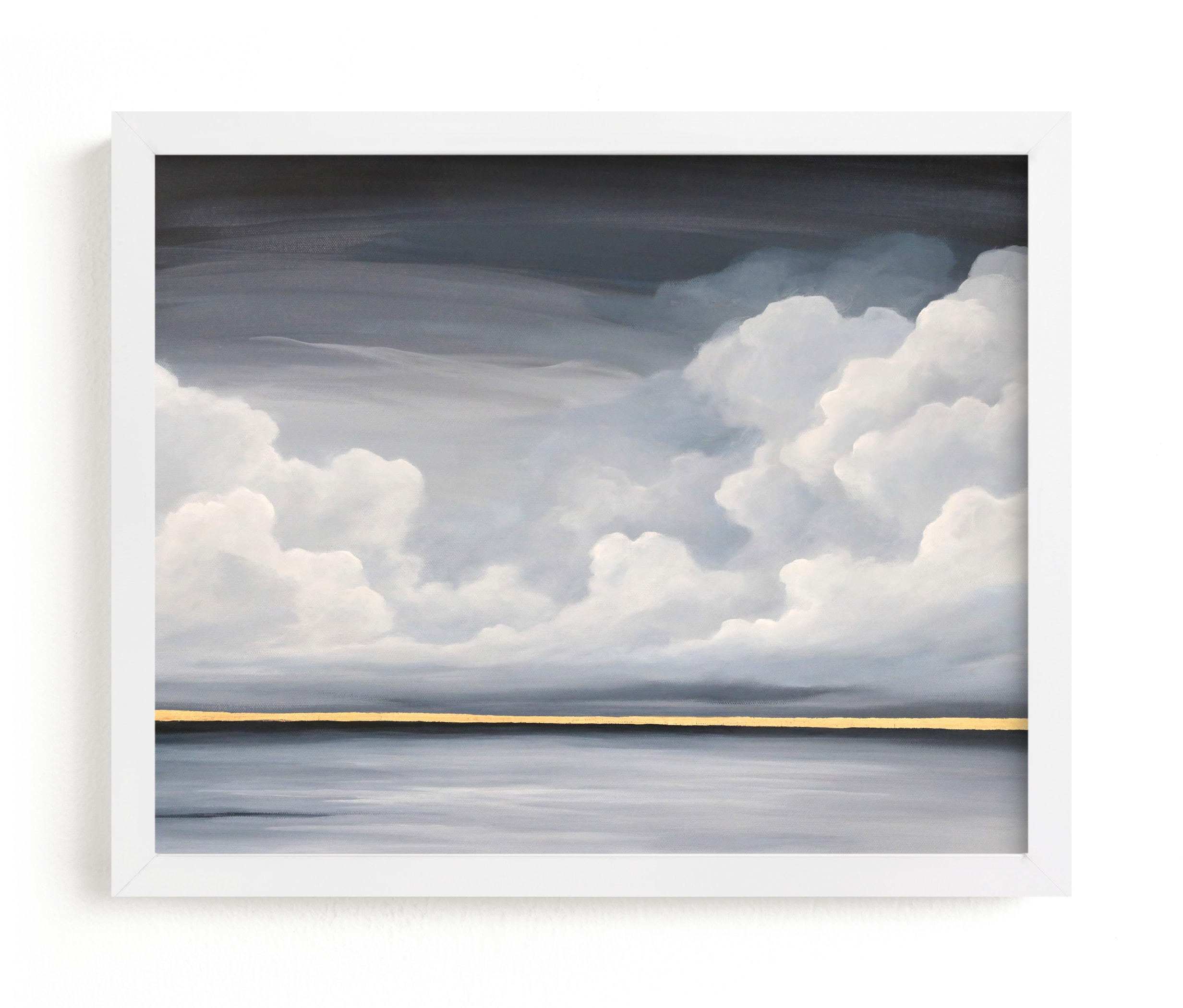 """""""Quiet Comfort"""" - Limited Edition Art Print by Mya Bessette in beautiful frame options and a variety of sizes."""