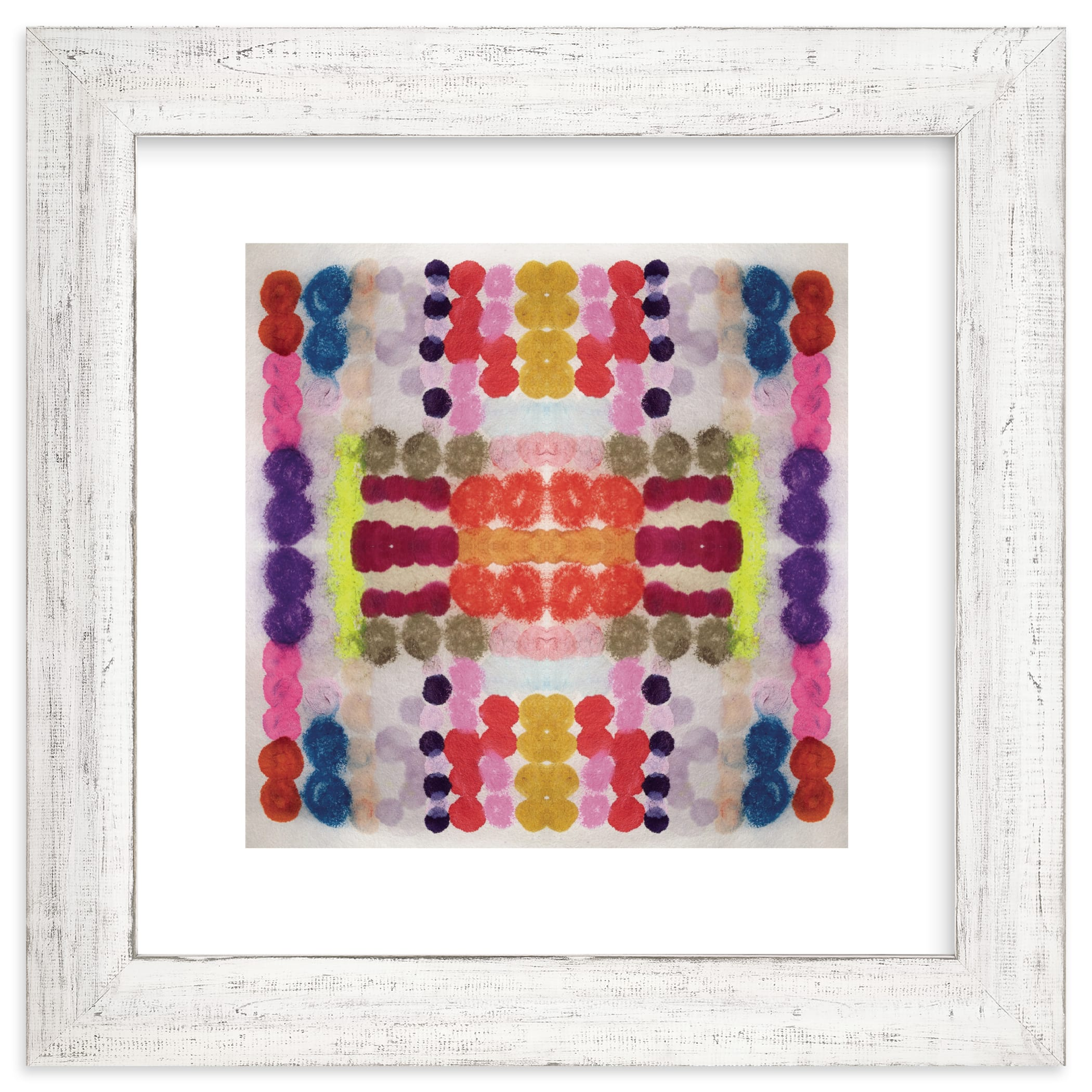 """""""Dippin Dot Squared No 3"""" - Limited Edition Art Print by HAPI ART in beautiful frame options and a variety of sizes."""