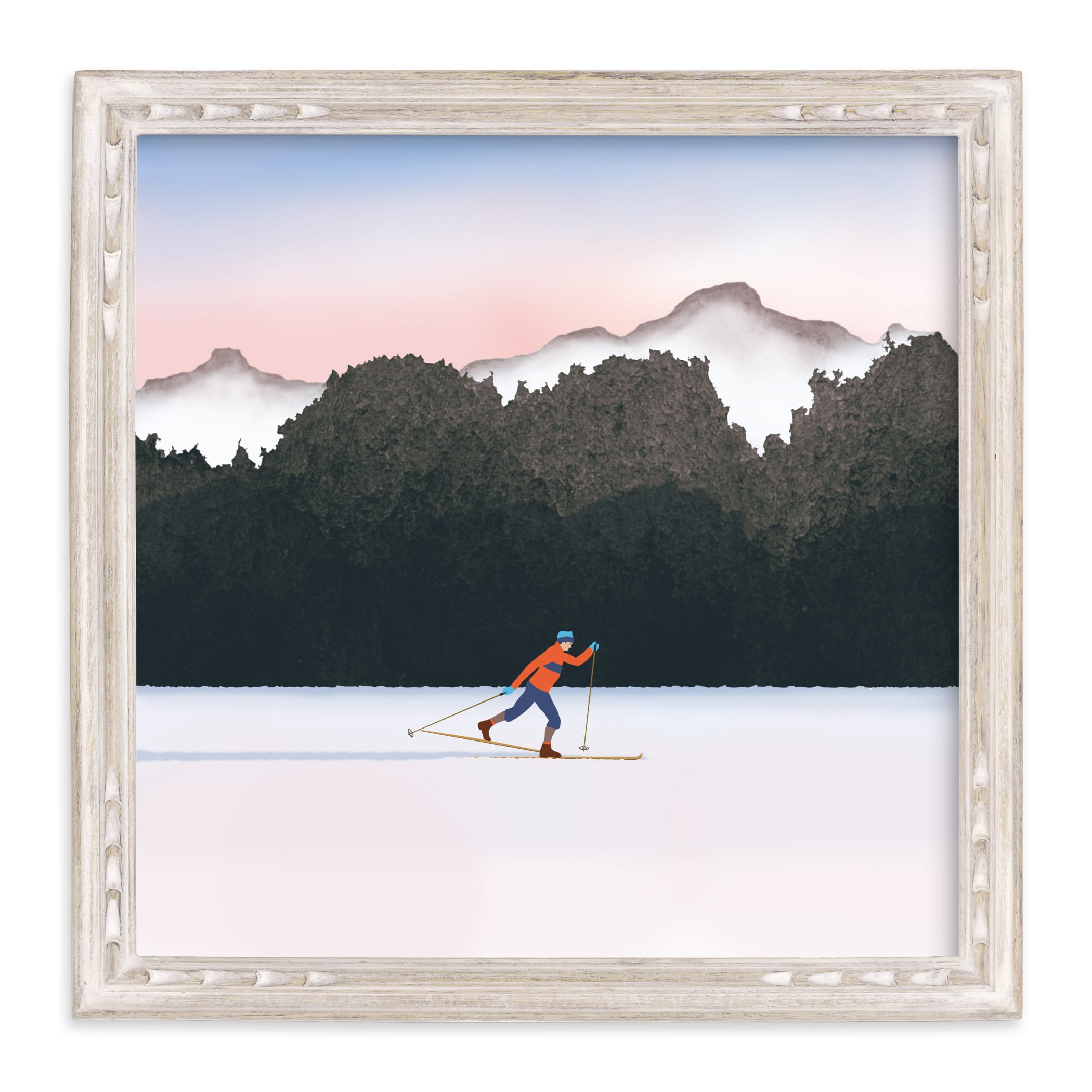 """""""Nordic Love"""" - Limited Edition Art Print by Shannon in beautiful frame options and a variety of sizes."""