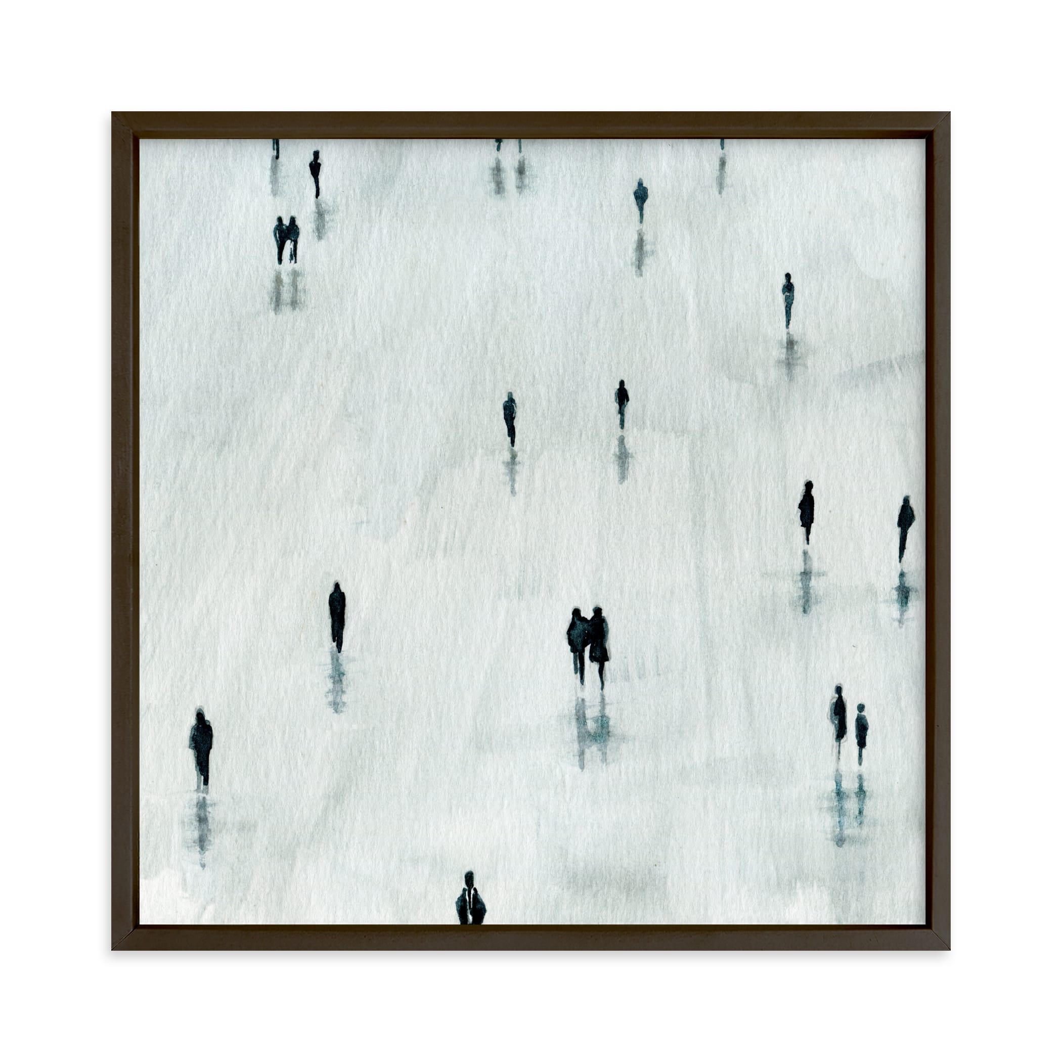 """Sombras"" - Limited Edition Art Print by Lulaloo in beautiful frame options and a variety of sizes."