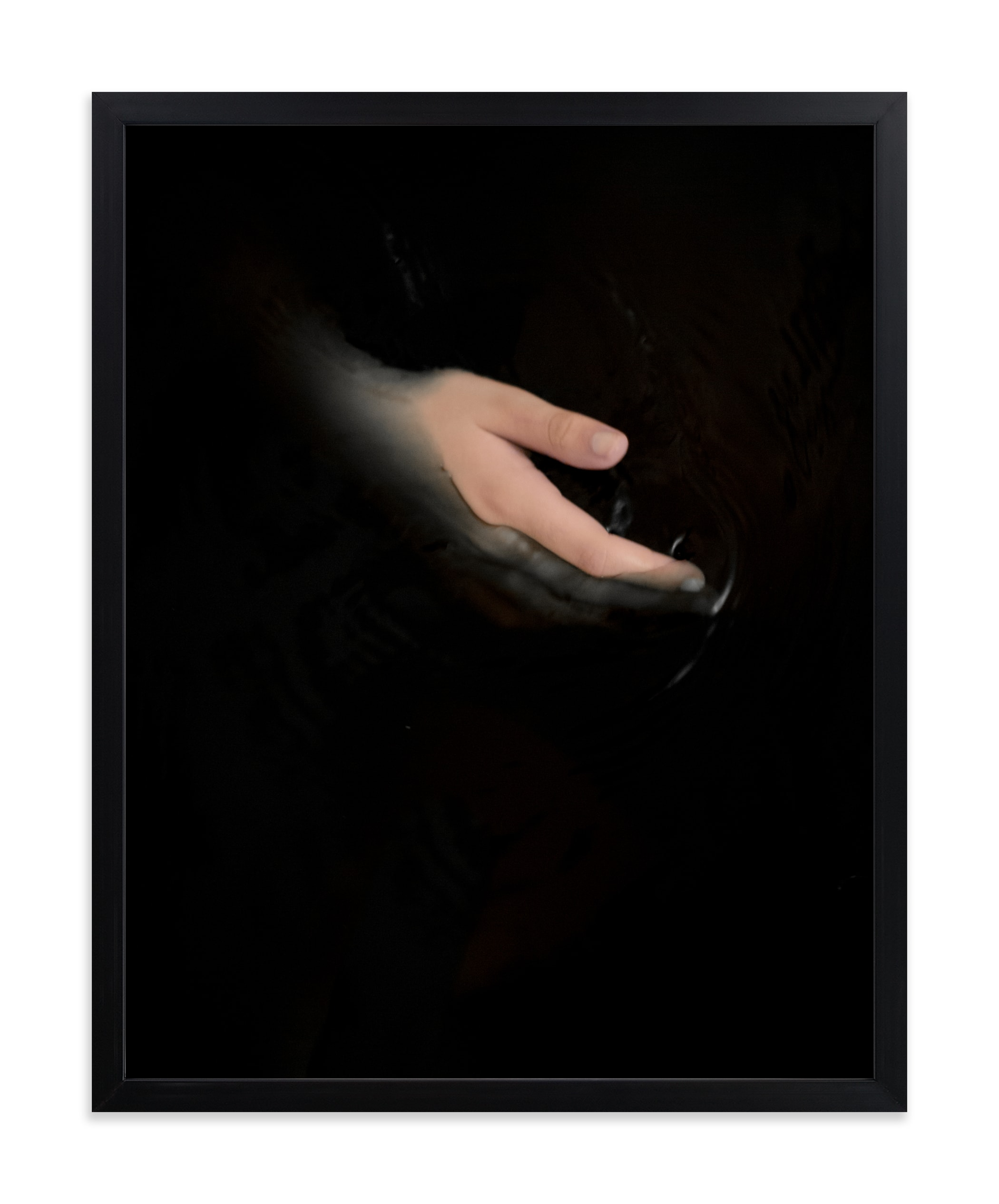 """""""hold my hand"""" - Limited Edition Art Print by Gabriela Klafke in beautiful frame options and a variety of sizes."""