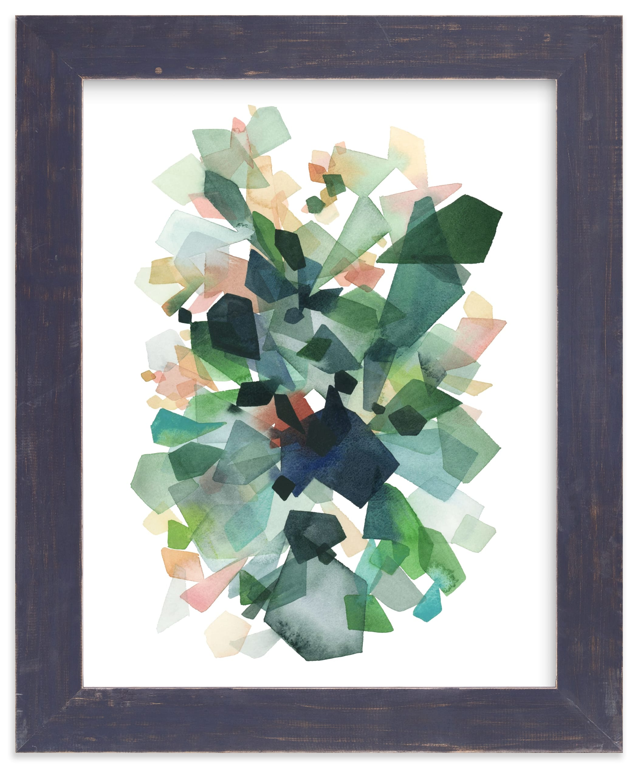 Art Gallery Fabrics PURE Solids - Emerald - Grid Fabrics