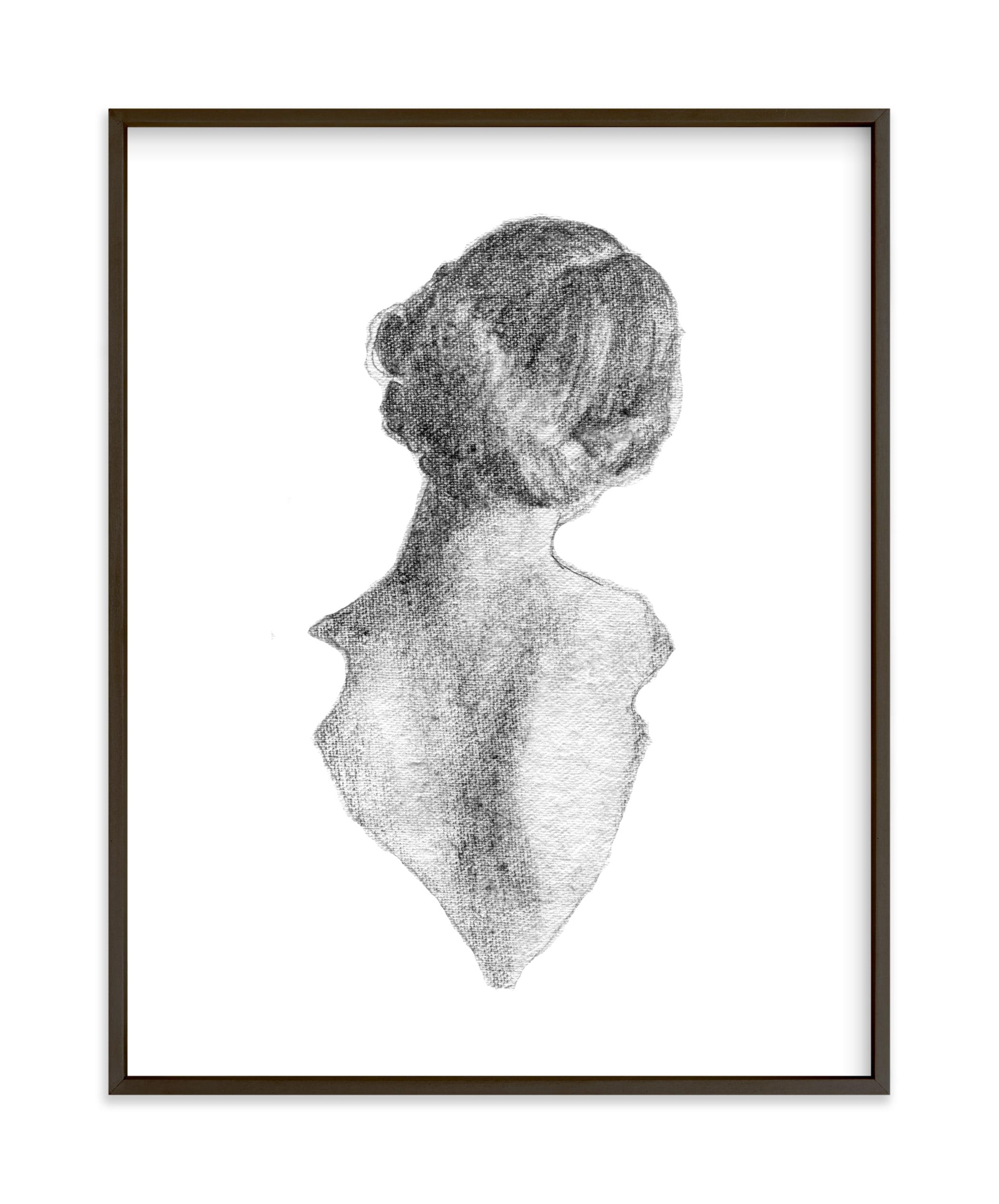 Figure Drawing No.16 Art Print