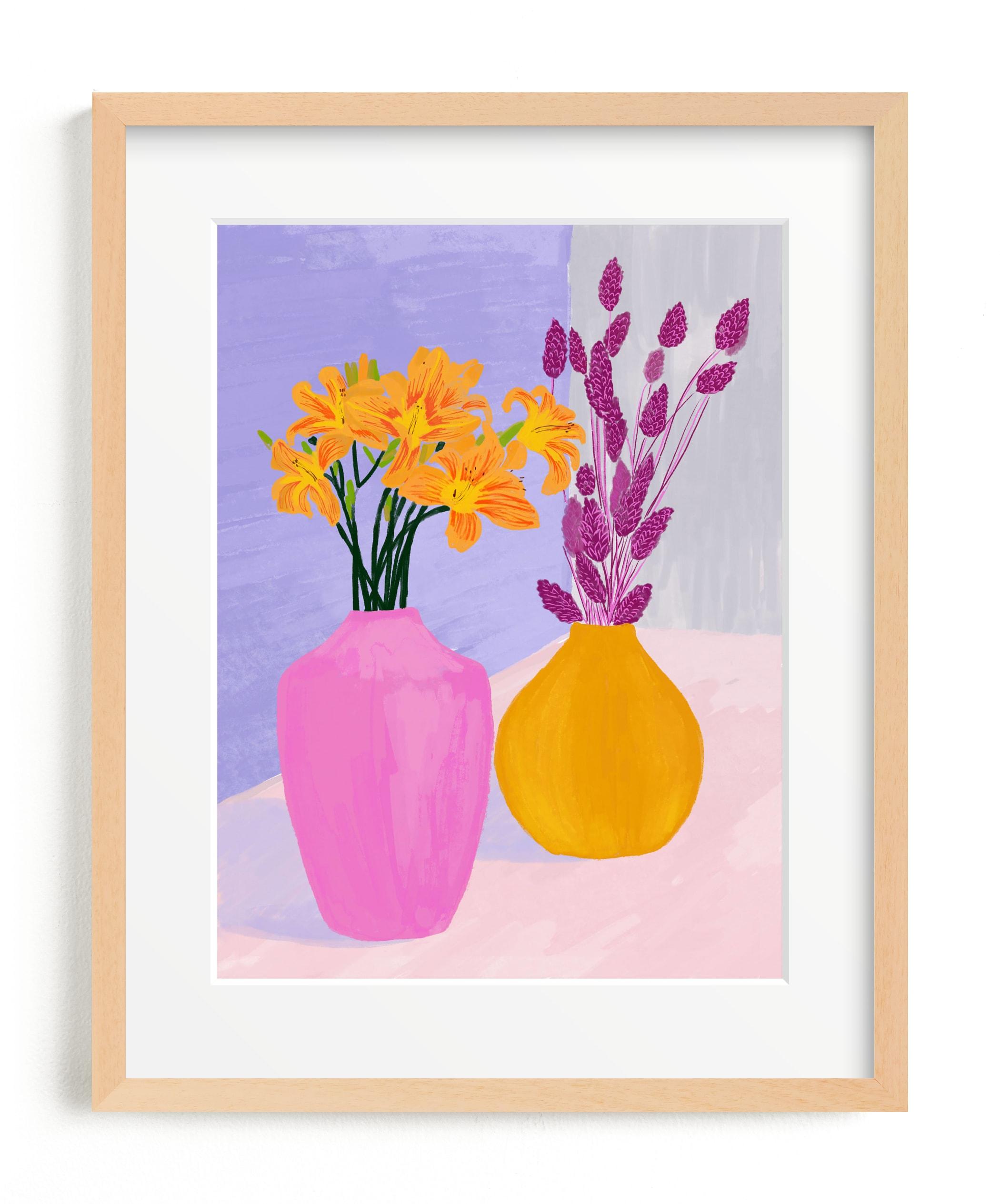 Color Still Wall Art Print