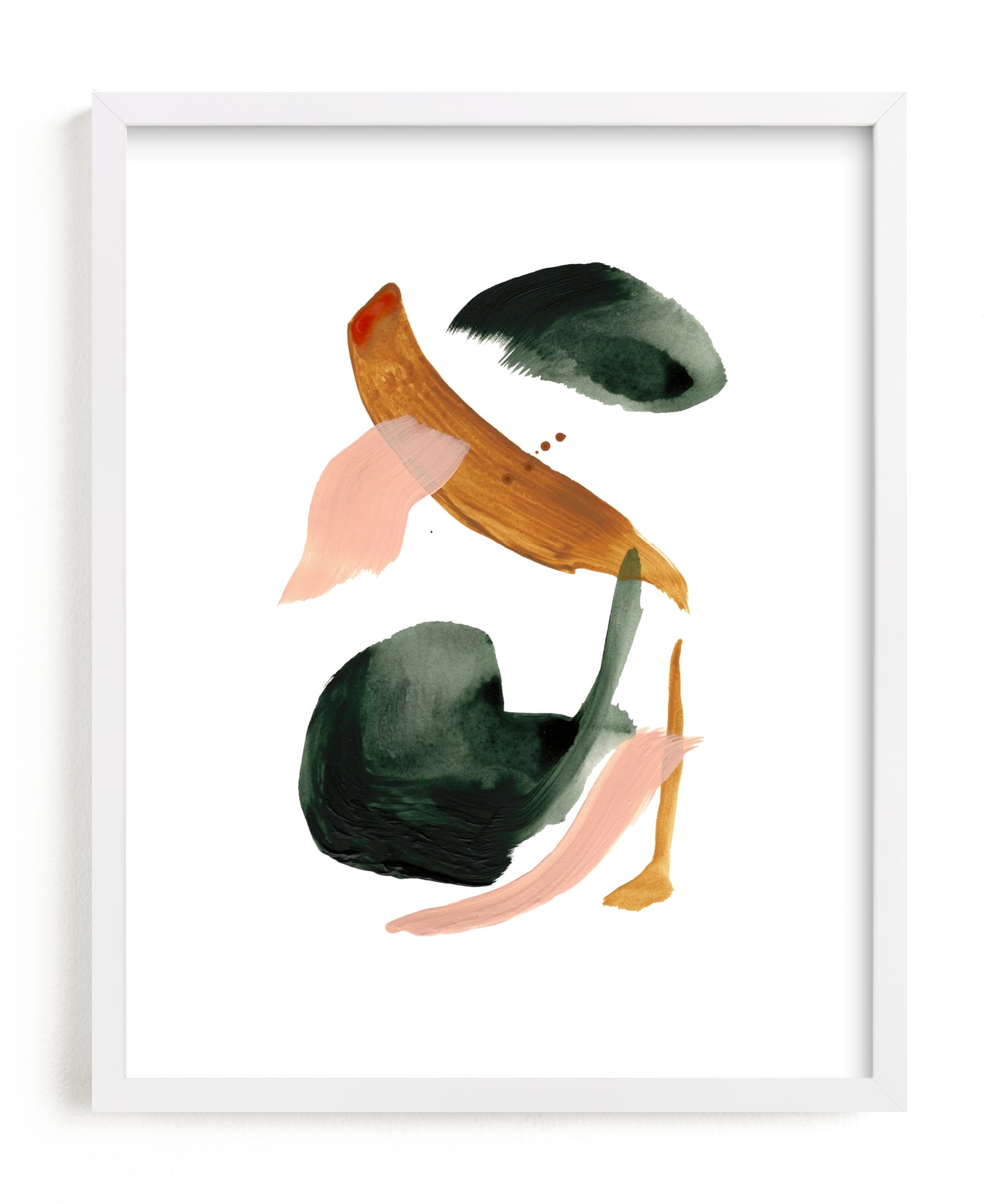 """""""Calm Forest No.18"""" - Limited Edition Art Print by Cait Courneya in beautiful frame options and a variety of sizes."""