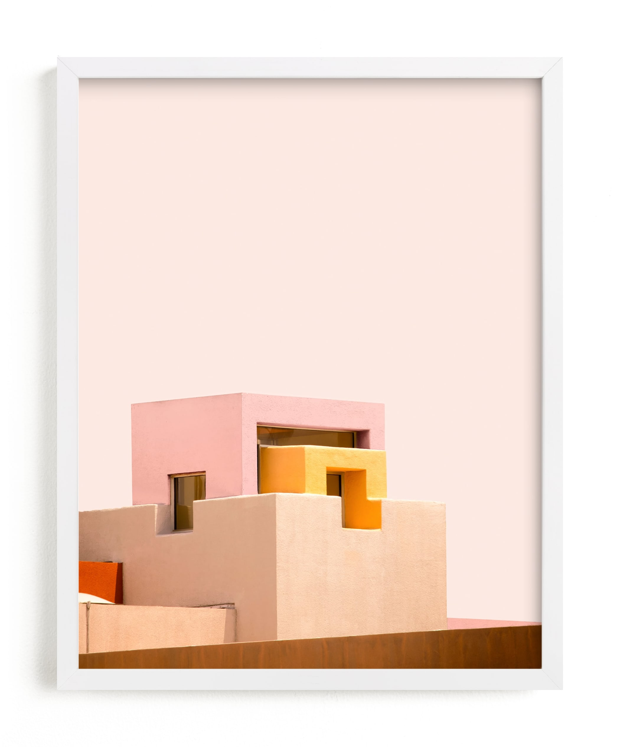 """Urban Desert Series 3"" - Limited Edition Art Print by Lisa Sundin in beautiful frame options and a variety of sizes."
