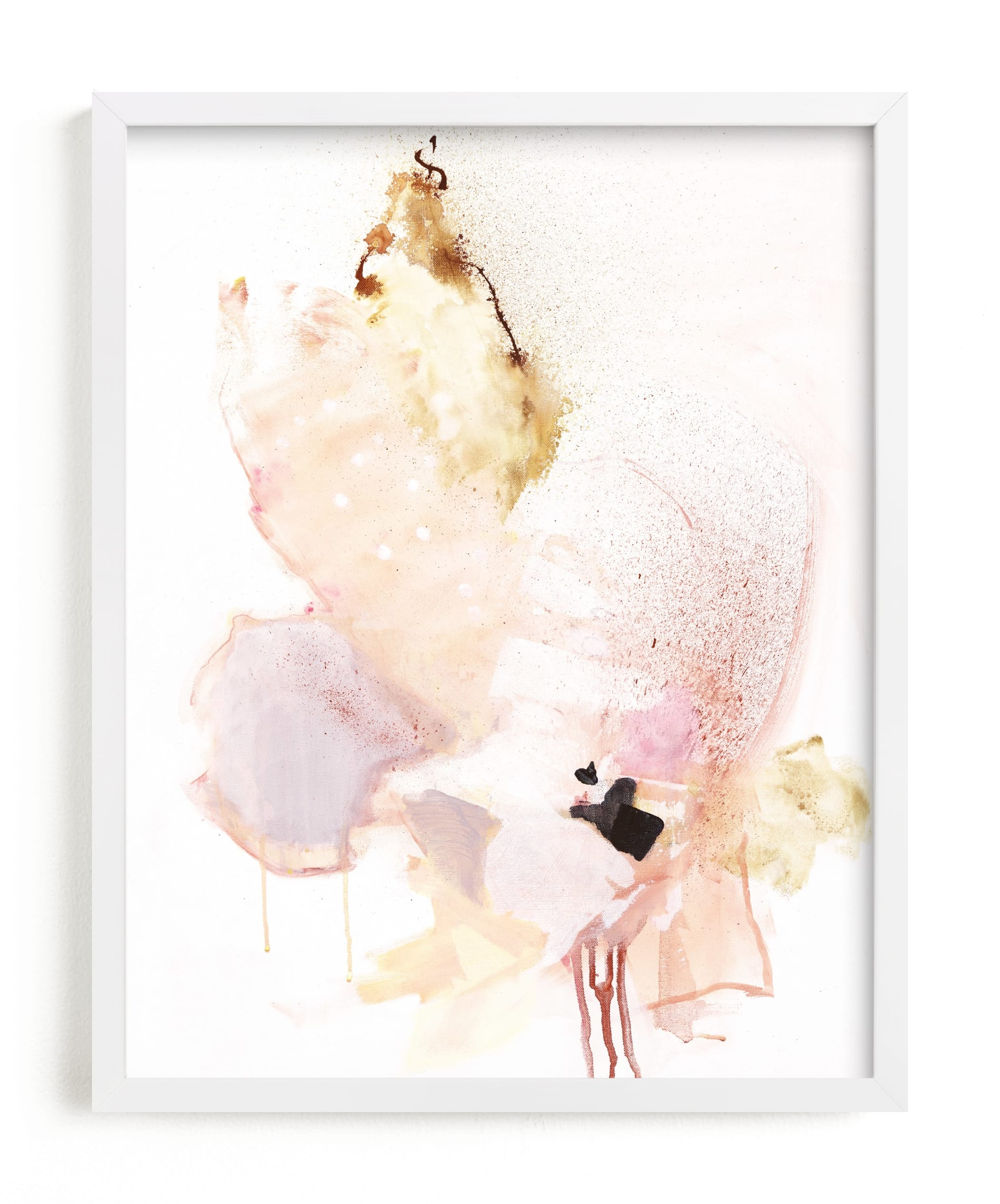"""Delicate"" - Limited Edition Art Print by Sarah McInroe in beautiful frame options and a variety of sizes."