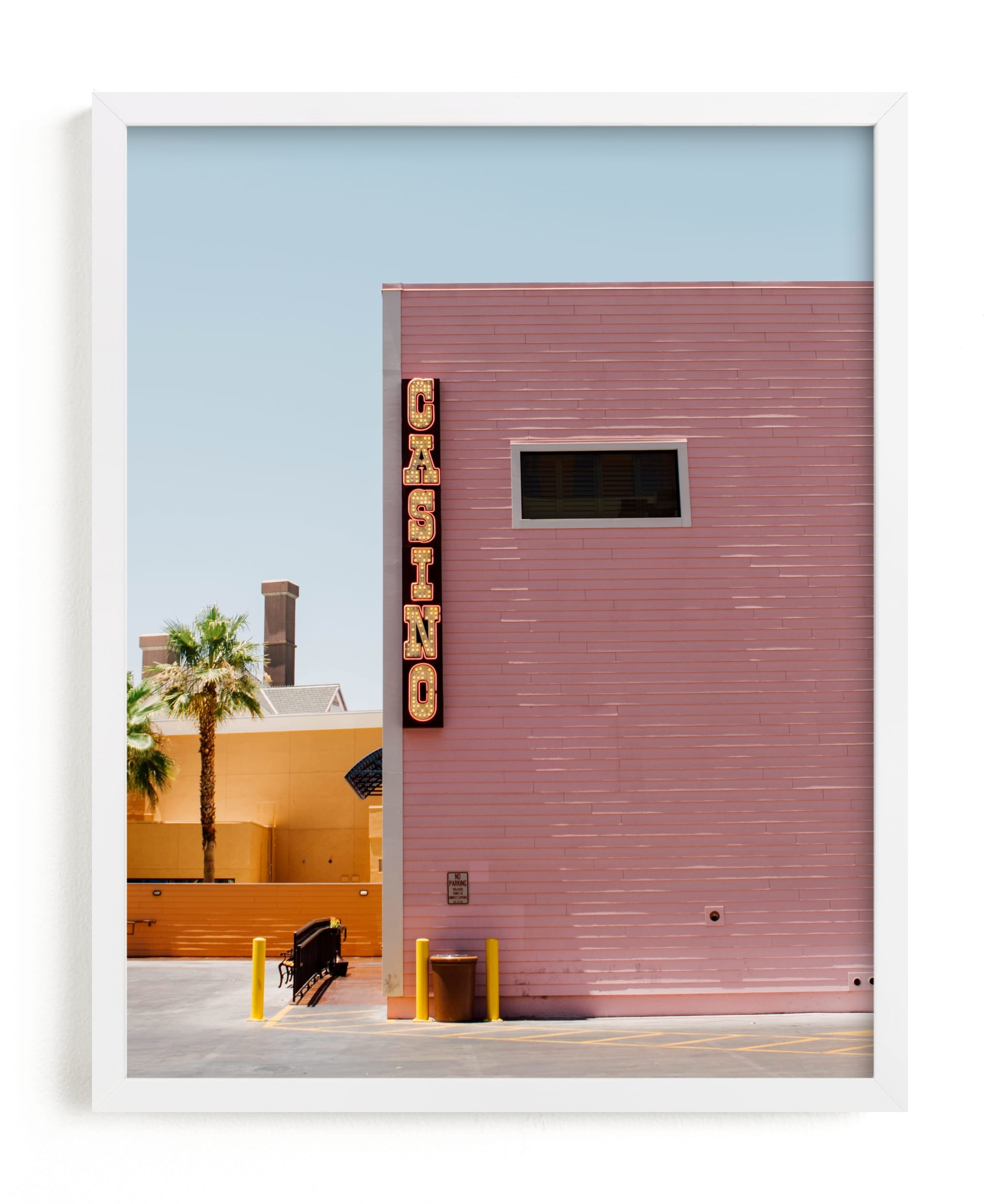 """""""Desert Oasis"""" - Limited Edition Art Print by Kaitlin Rebesco in beautiful frame options and a variety of sizes."""
