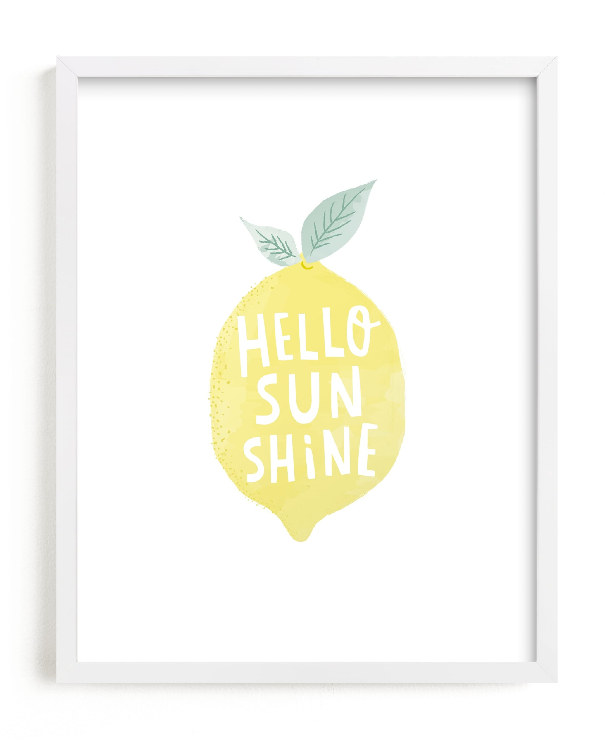 """""""sunshine lemon"""" by Karidy Walker in beautiful frame options and a variety of sizes."""