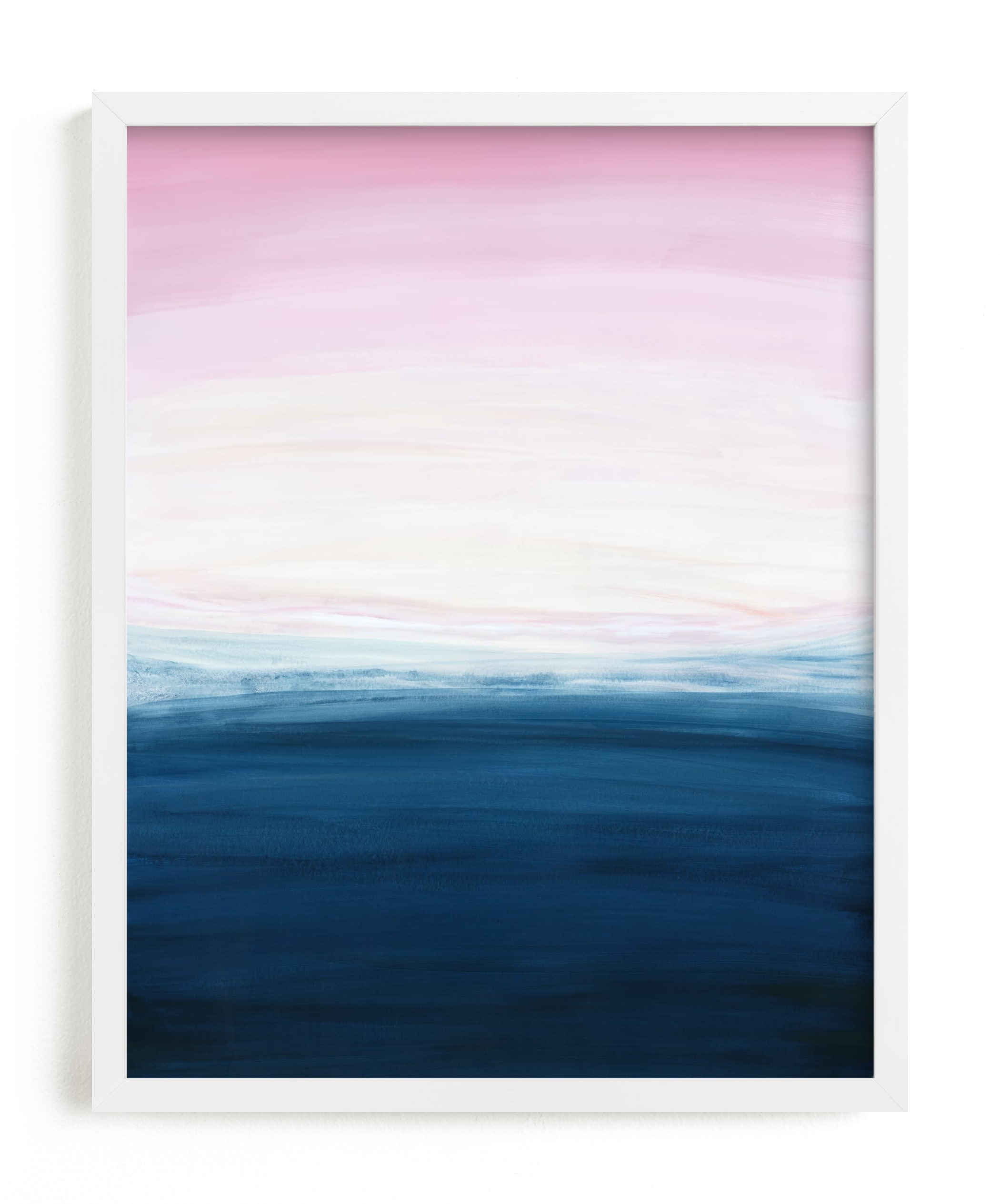 """""""Sunset ocean"""" by Yaling Hou Suzuki in beautiful frame options and a variety of sizes."""