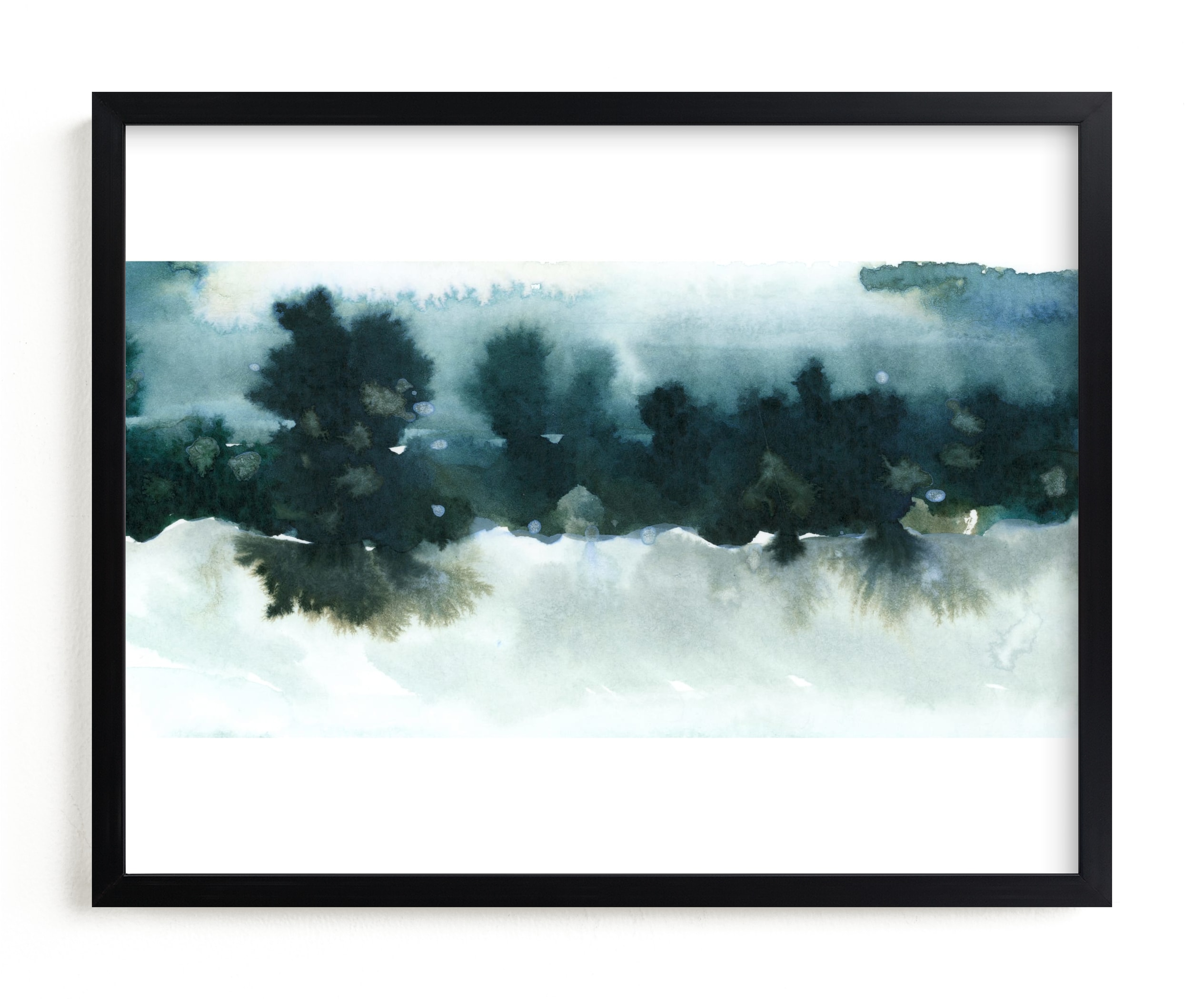"""Night Falling"" - Limited Edition Art Print by Lindsay Megahed in beautiful frame options and a variety of sizes."