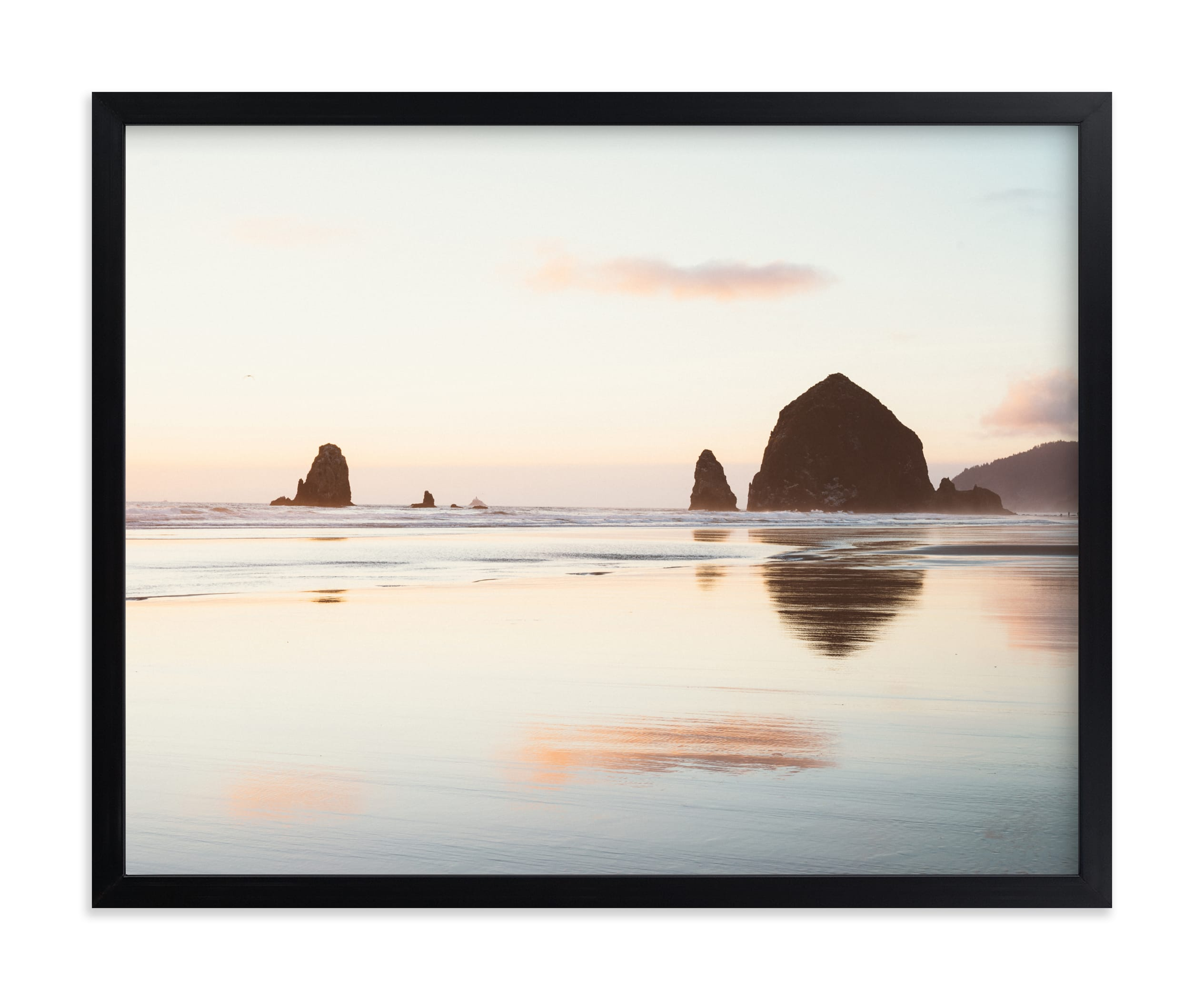 """""""Cannon Beach No. 1"""" - Limited Edition Art Print by Kamala Nahas in beautiful frame options and a variety of sizes."""