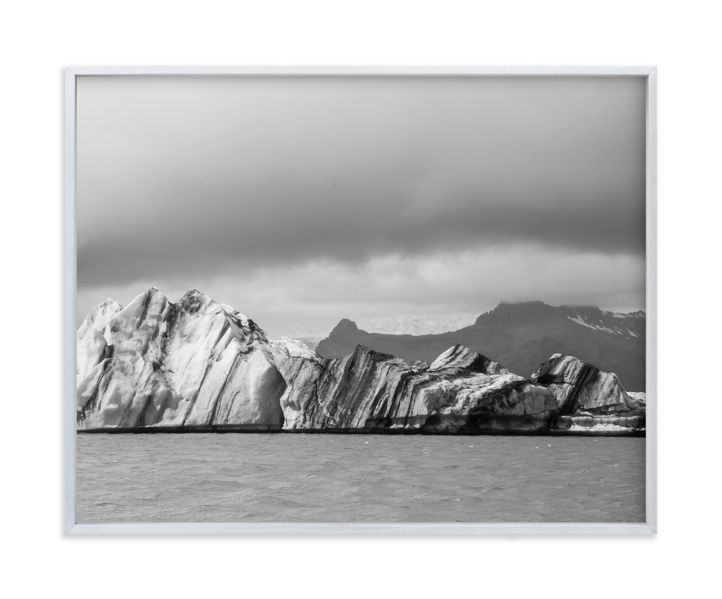 """form of ice #2 "" - Limited Edition Art Print by van tsao in beautiful frame options and a variety of sizes."