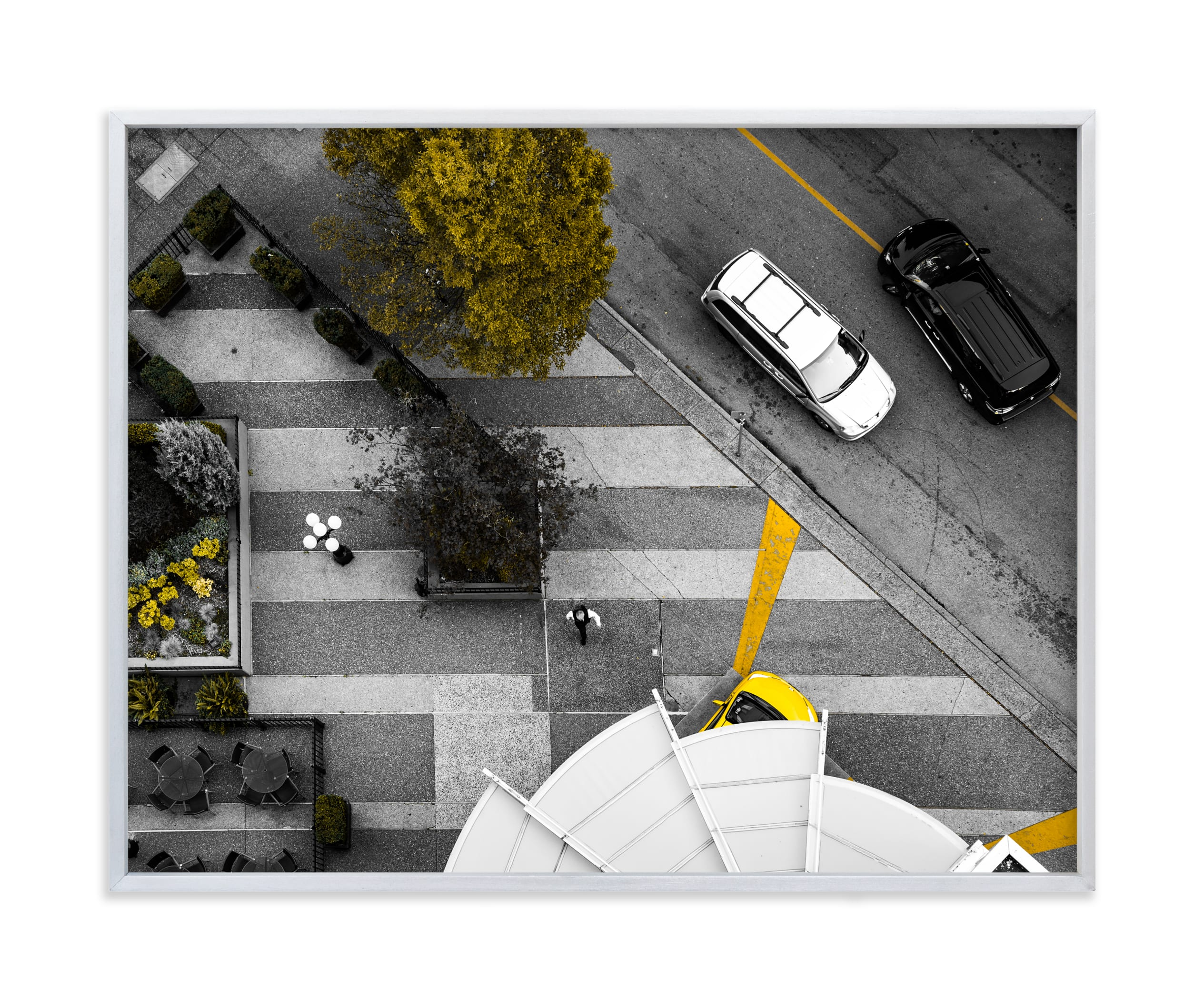 """Story from Aerial #1"" - Limited Edition Art Print by van tsao in beautiful frame options and a variety of sizes."
