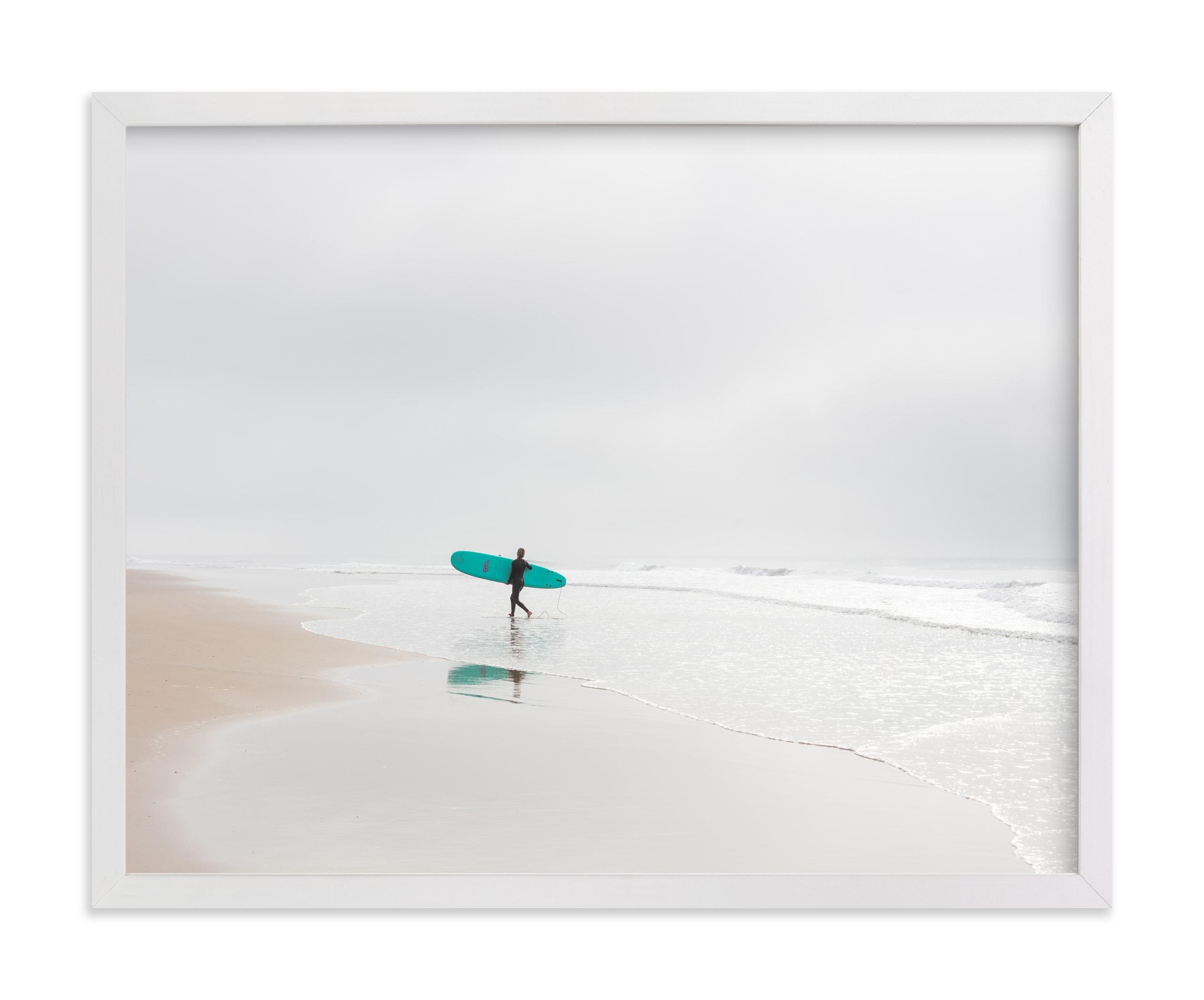 California Surf Wall Art Print