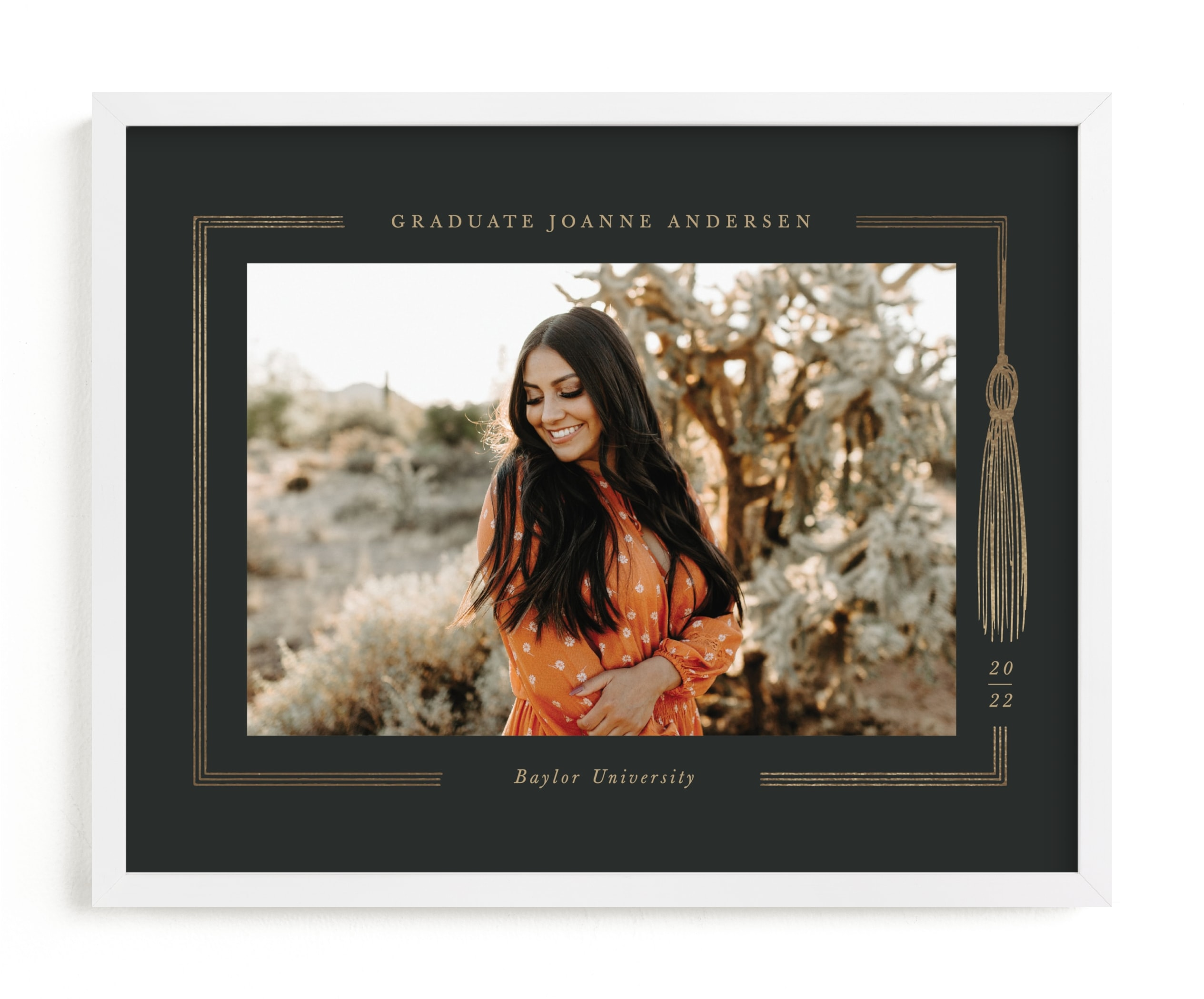 """""""Graduation gown"""" - Foil Pressed Photo Art Print by Pati Cascino in beautiful frame options and a variety of sizes."""