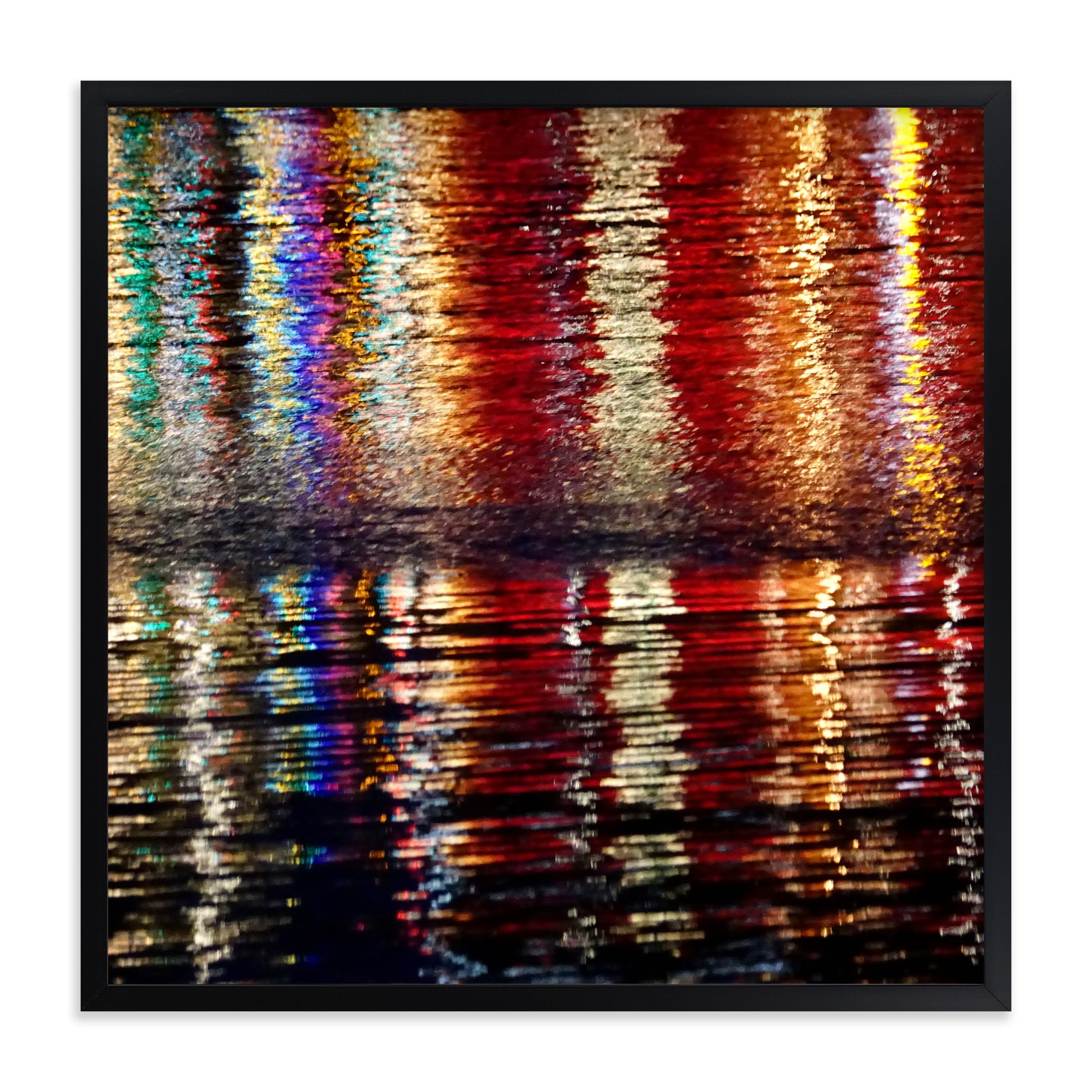 """""""Water Lights"""" - Limited Edition Art Print by Jan Kessel in beautiful frame options and a variety of sizes."""