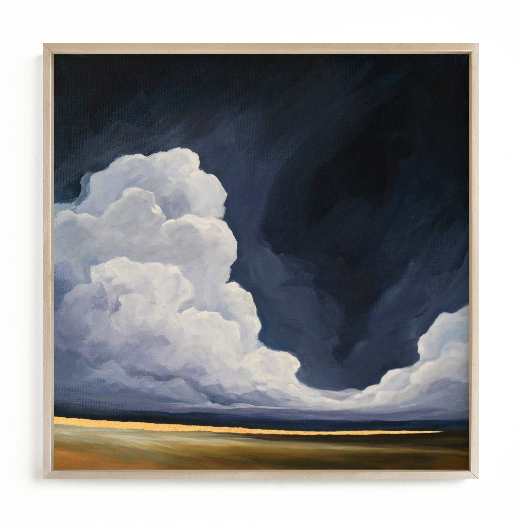 """""""Softly to the North"""" by Mya Bessette in beautiful frame options and a variety of sizes."""