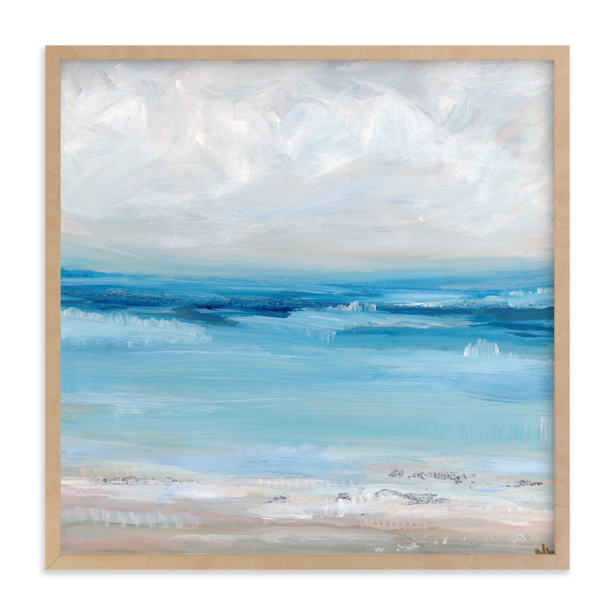 """Of the Sea"" - Limited Edition Art Print by Nicole Walsh in beautiful frame options and a variety of sizes."
