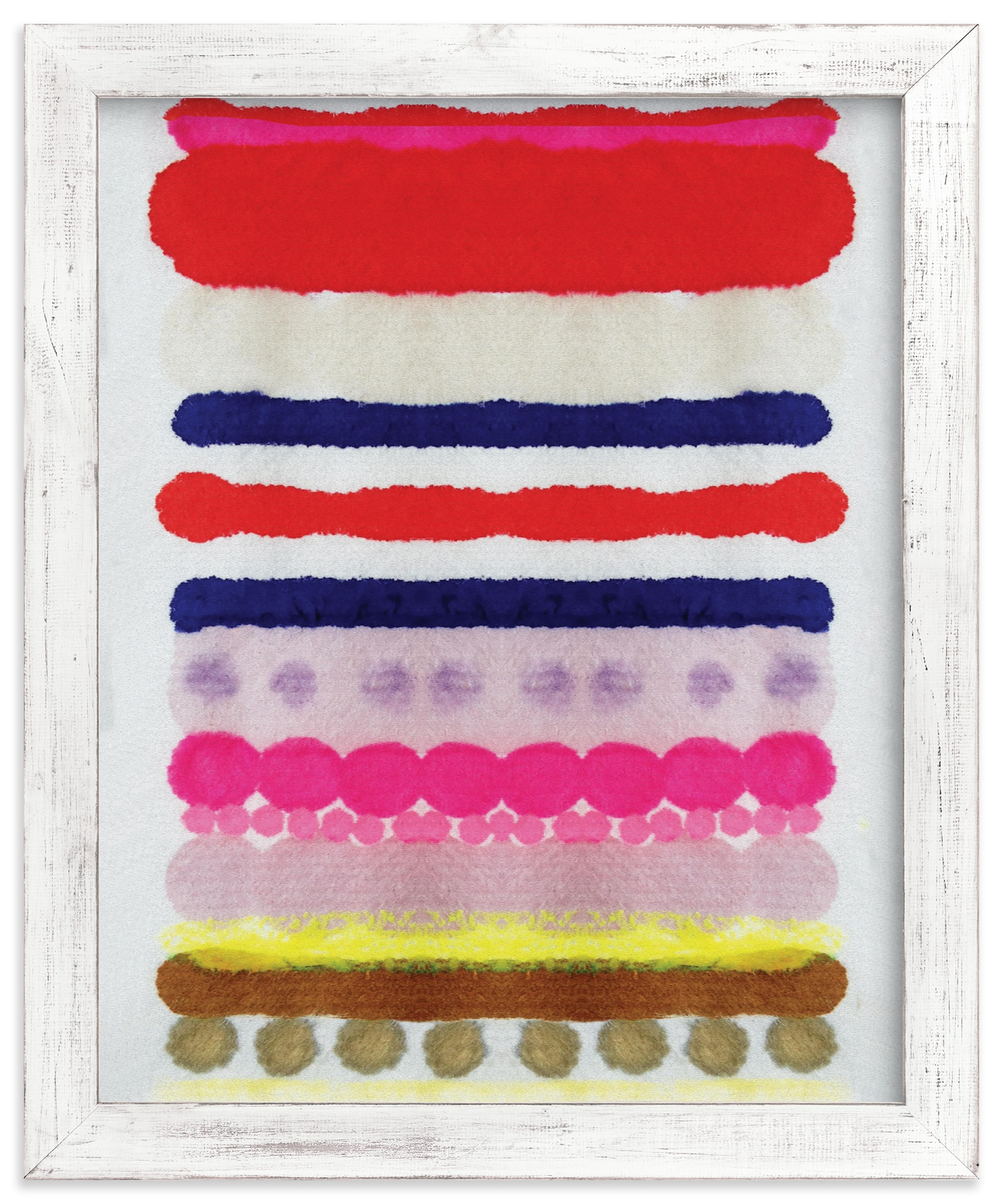 """""""Linked No 3"""" - Limited Edition Art Print by HAPI ART in beautiful frame options and a variety of sizes."""
