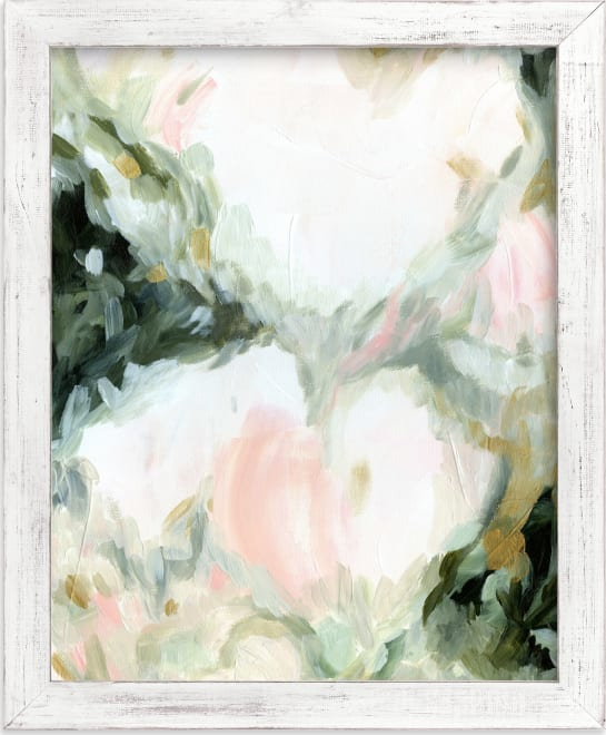 This is a pink art by Melanie Severin called Mesmerize.