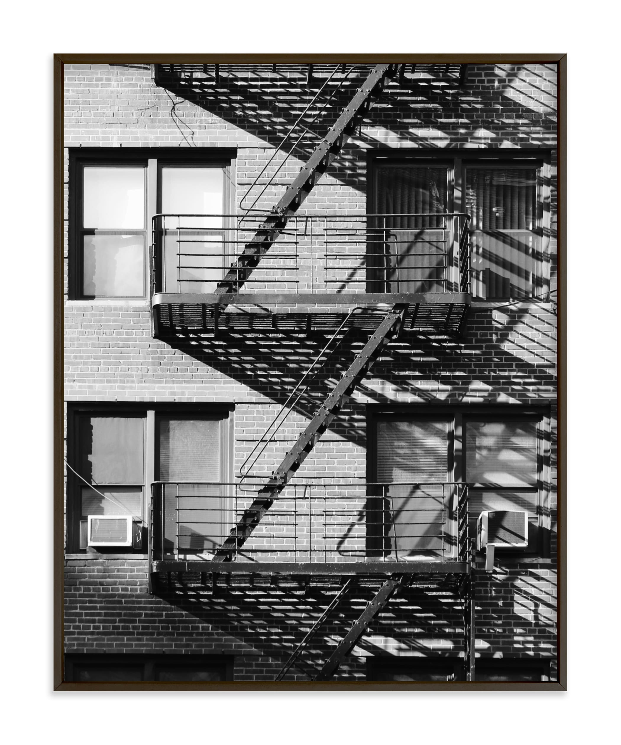 """""""Up Down NYC"""" - Limited Edition Art Print by lulu and isabelle in beautiful frame options and a variety of sizes."""
