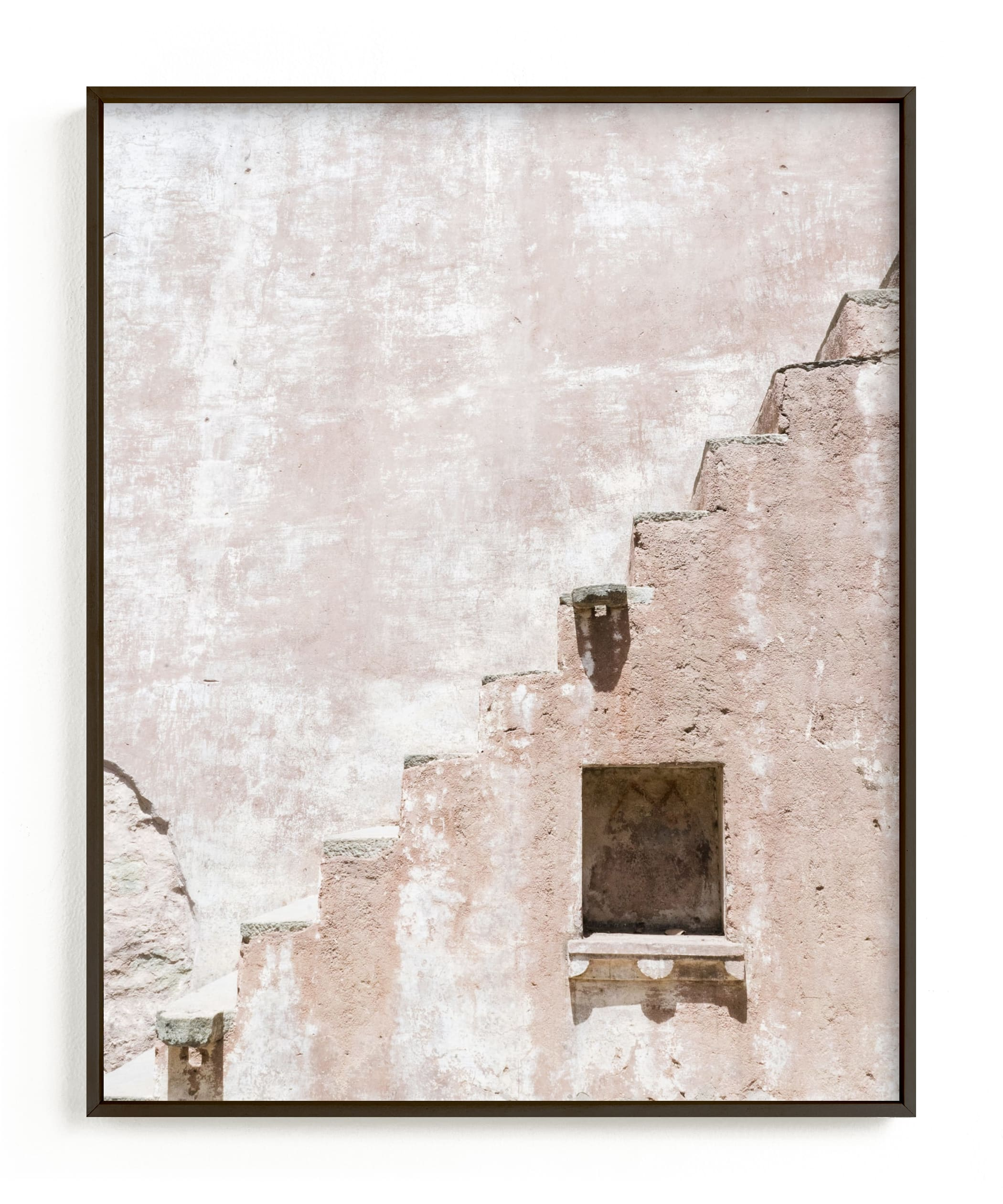"""Fortress I"" - Limited Edition Art Print by Kamala Nahas in beautiful frame options and a variety of sizes."