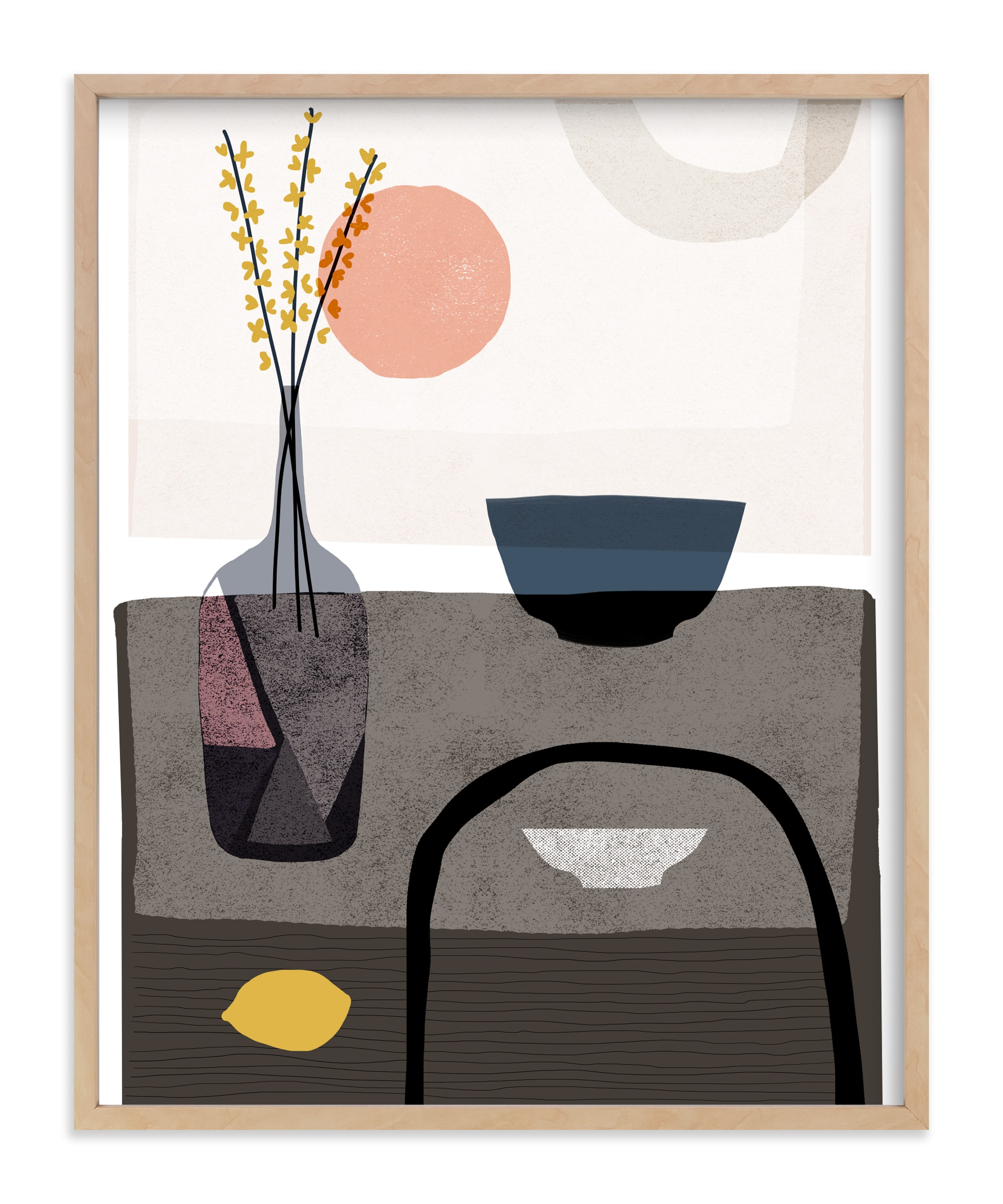 """""""Stillness 2"""" - Art Print by Francesca Iannaccone in beautiful frame options and a variety of sizes."""