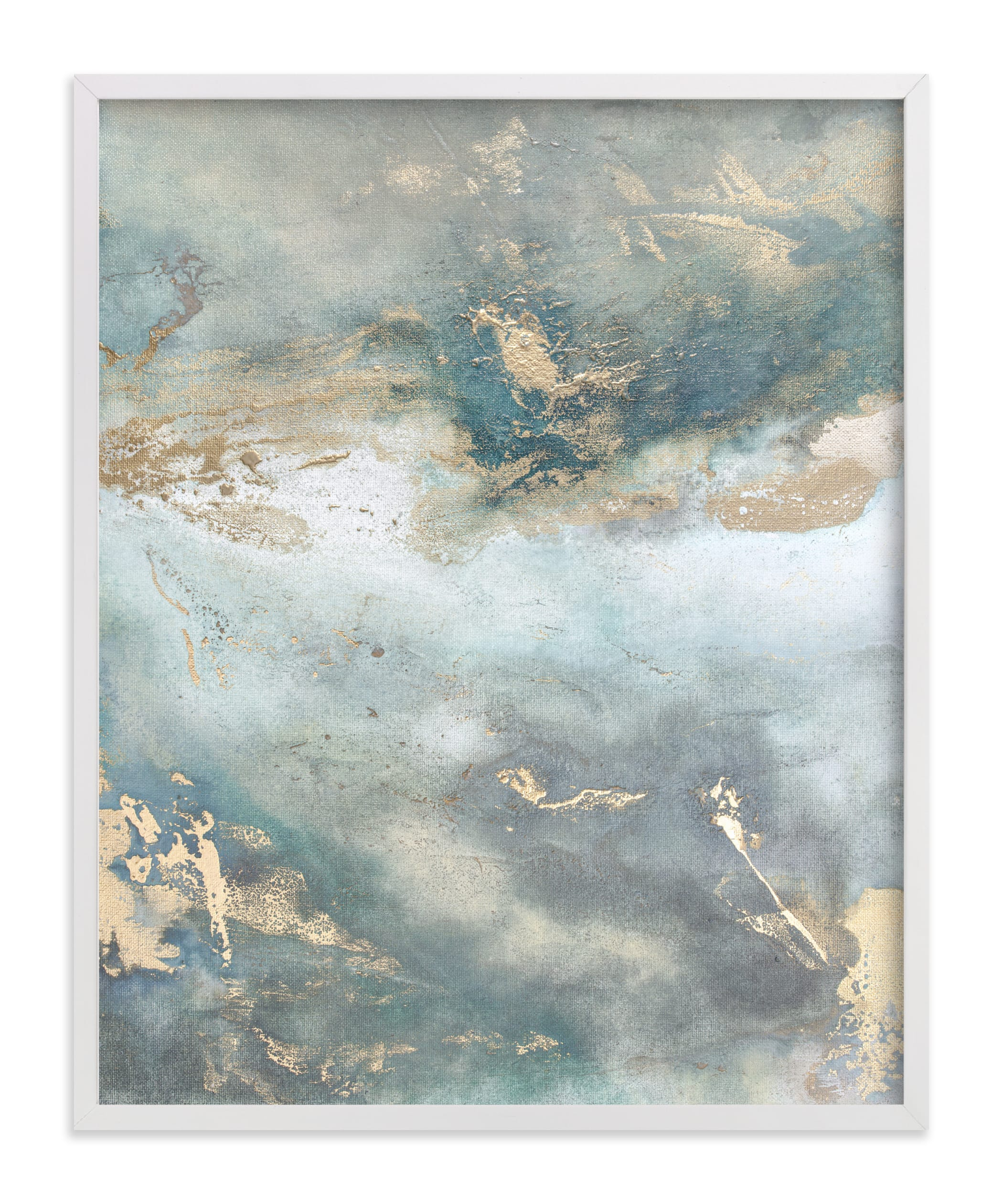 """""""Luminous Smoke No. 2"""" - Limited Edition Art Print by Julia Contacessi in beautiful frame options and a variety of sizes."""