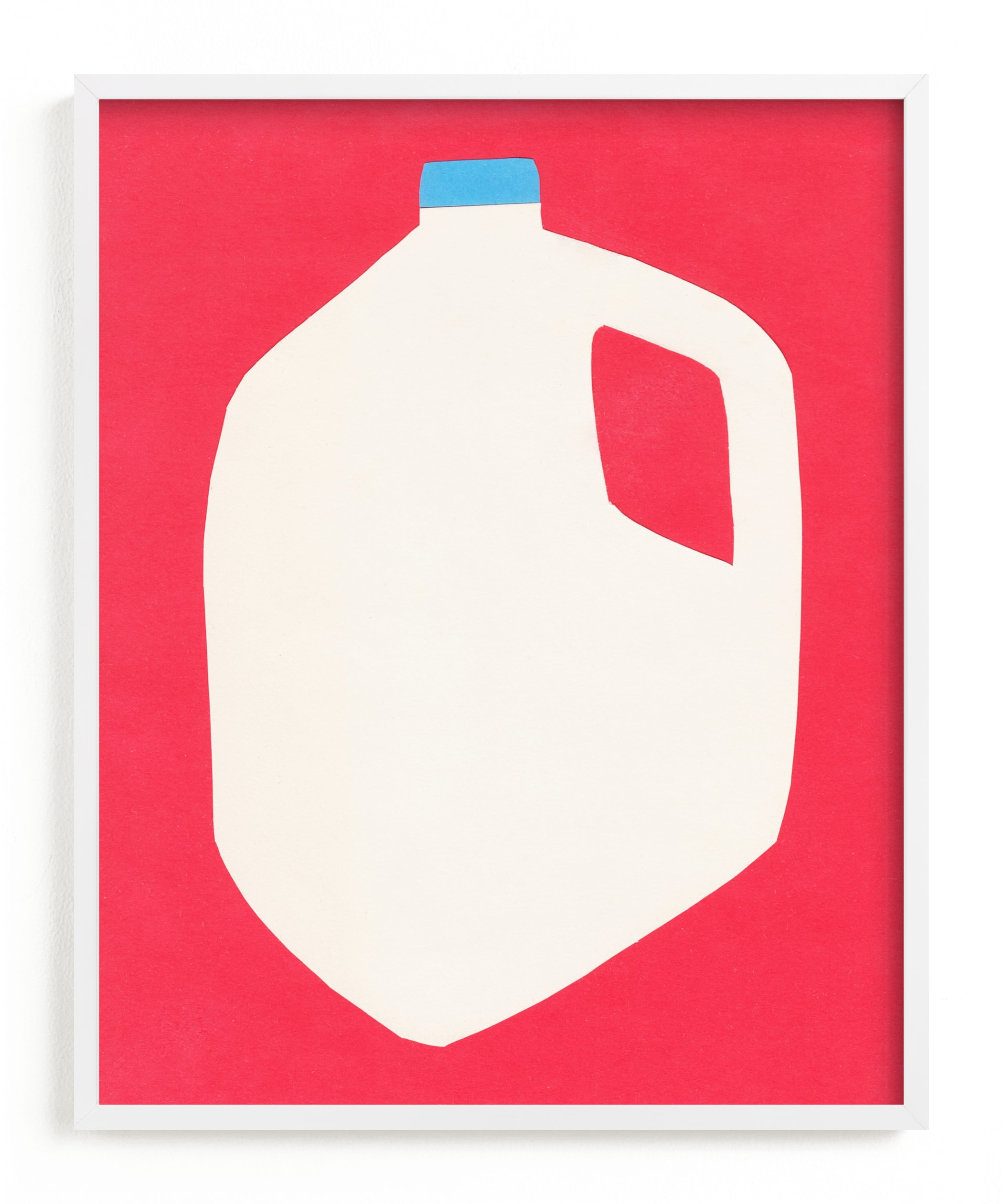 """Two Percent Milk"" - Limited Edition Art Print by Elliot Stokes in beautiful frame options and a variety of sizes."