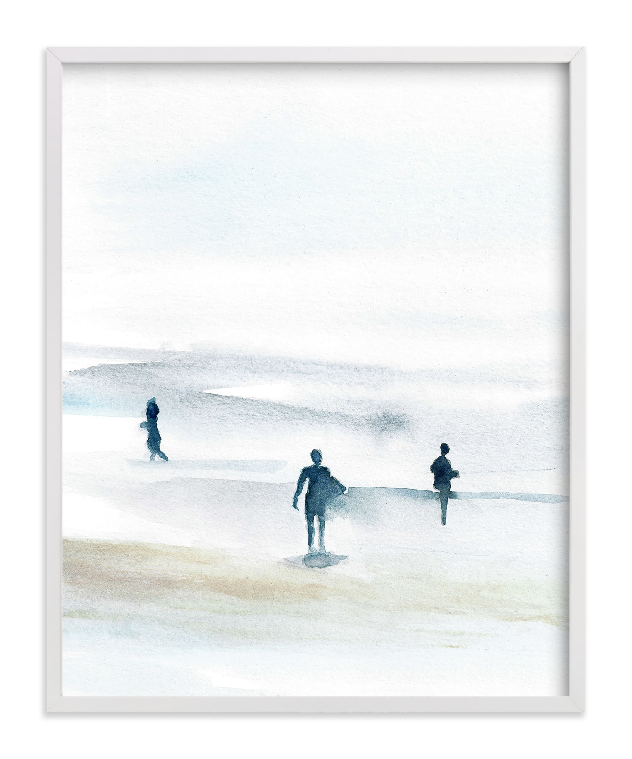 """""""Surf Dream"""" - Art Print by Jenny Partrite in beautiful frame options and a variety of sizes."""