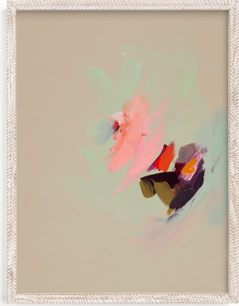 This is a colorful art by Caryn Owen called Muted Abstract Diptych I.