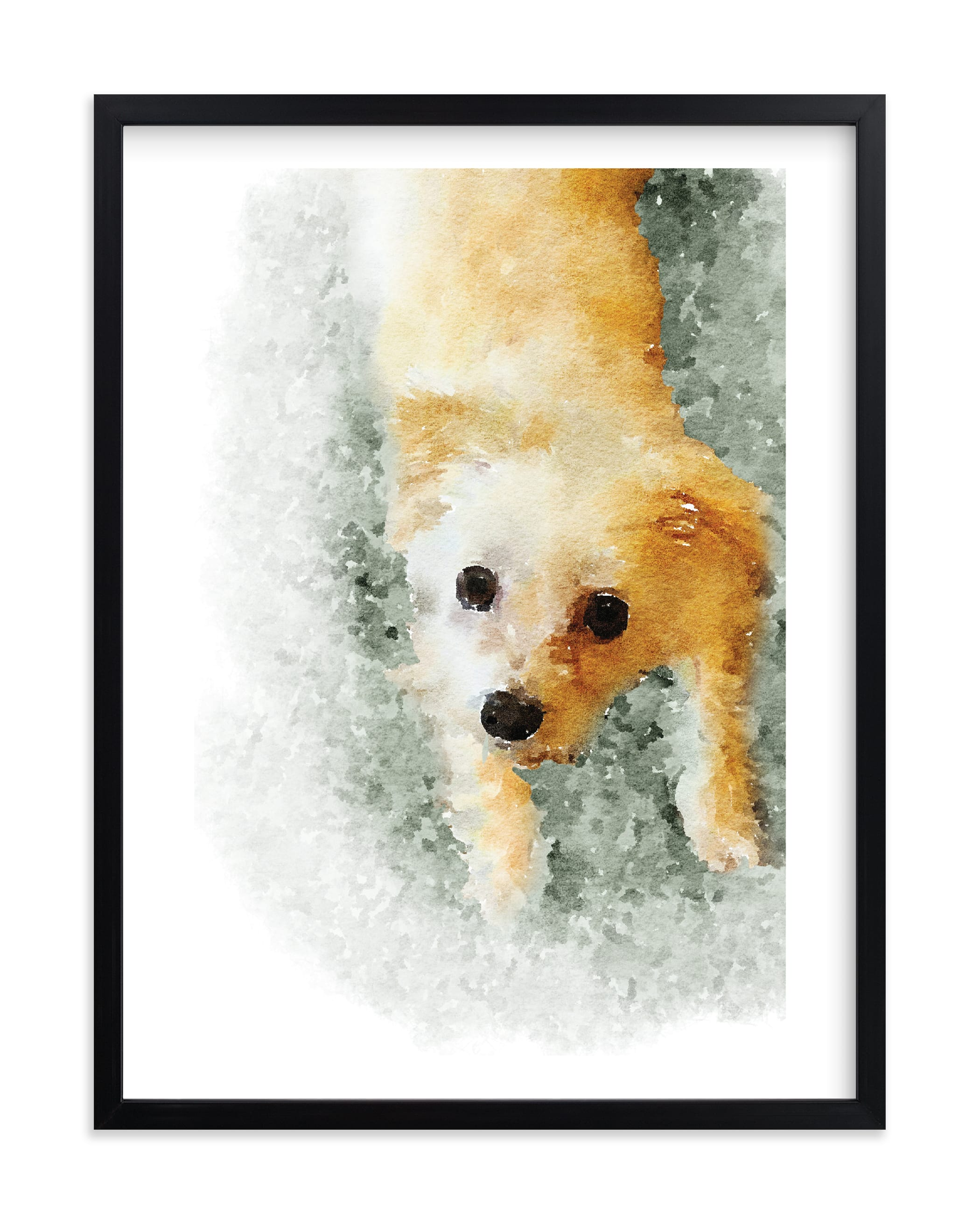 Custom Pet Portrait Your Drawing As Art Print