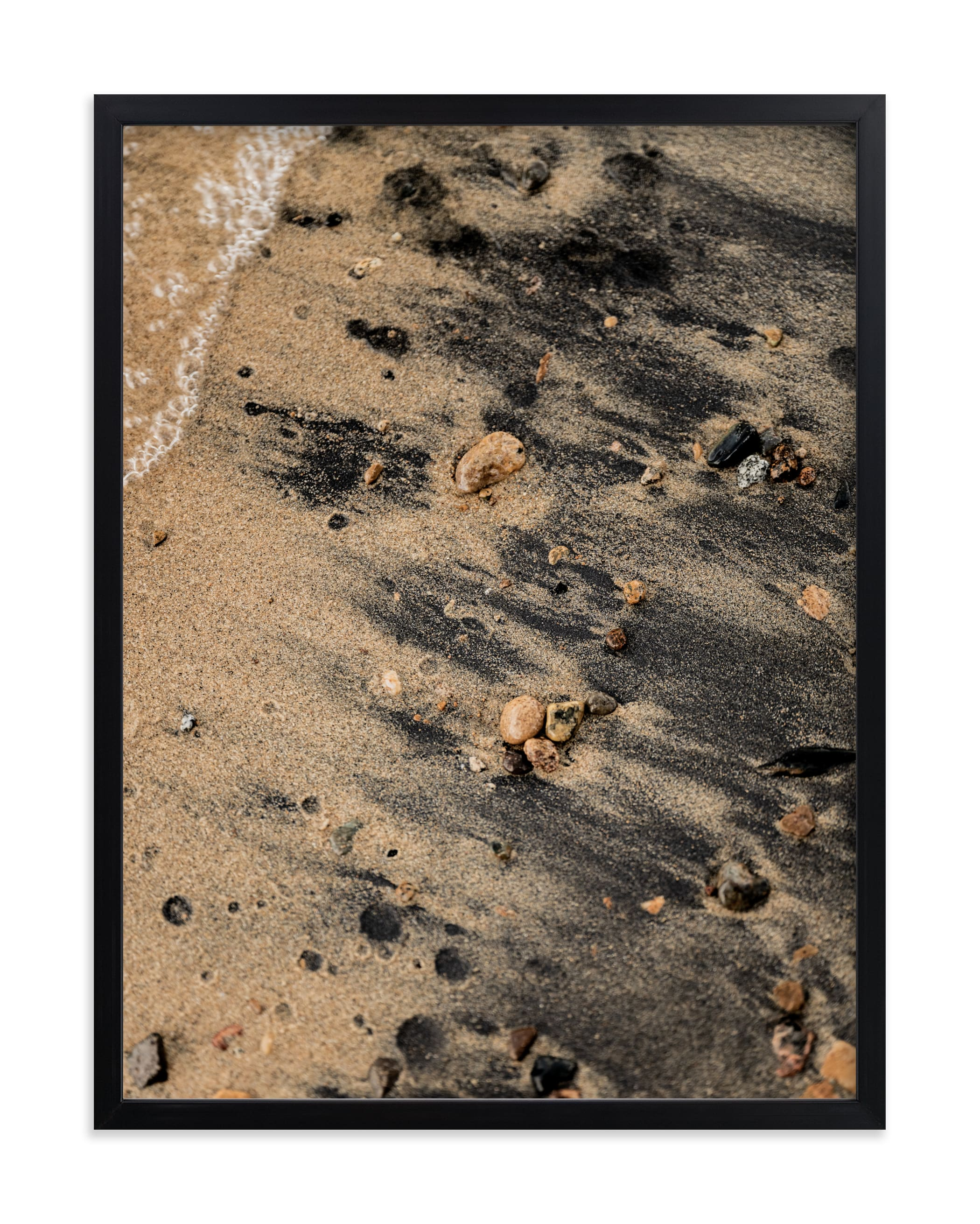 """""""Black Sand III"""" - Limited Edition Art Print by Karly Rose Sahr in beautiful frame options and a variety of sizes."""