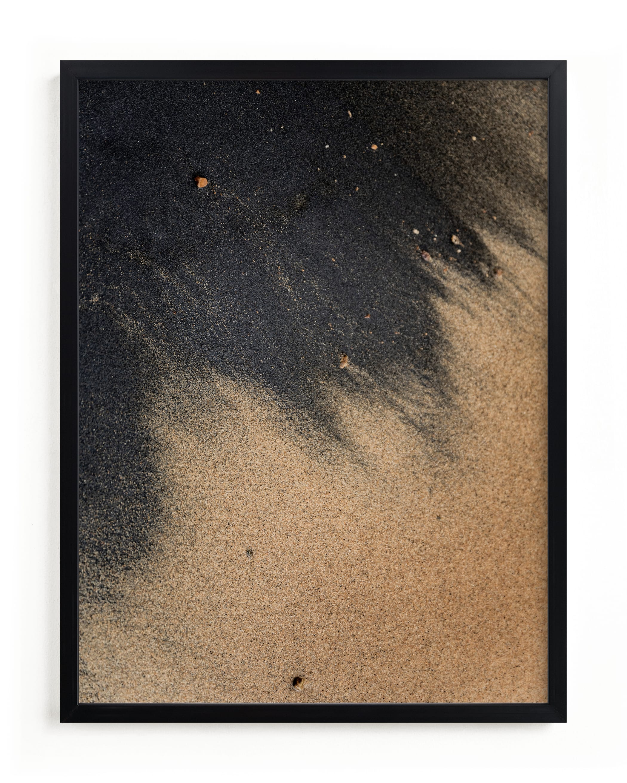 """""""Black Sand II"""" - Limited Edition Art Print by Karly Rose Sahr in beautiful frame options and a variety of sizes."""