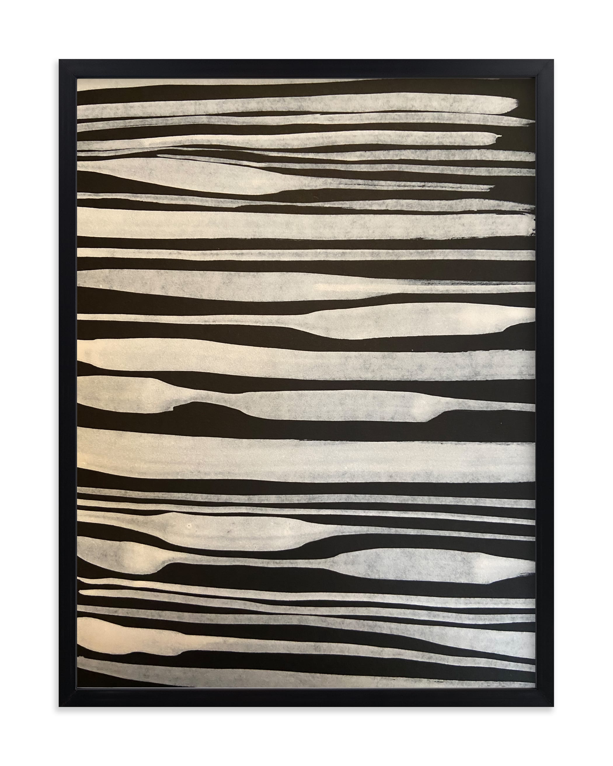 """""""Linen"""" - Limited Edition Art Print by Deborah Velasquez in beautiful frame options and a variety of sizes."""