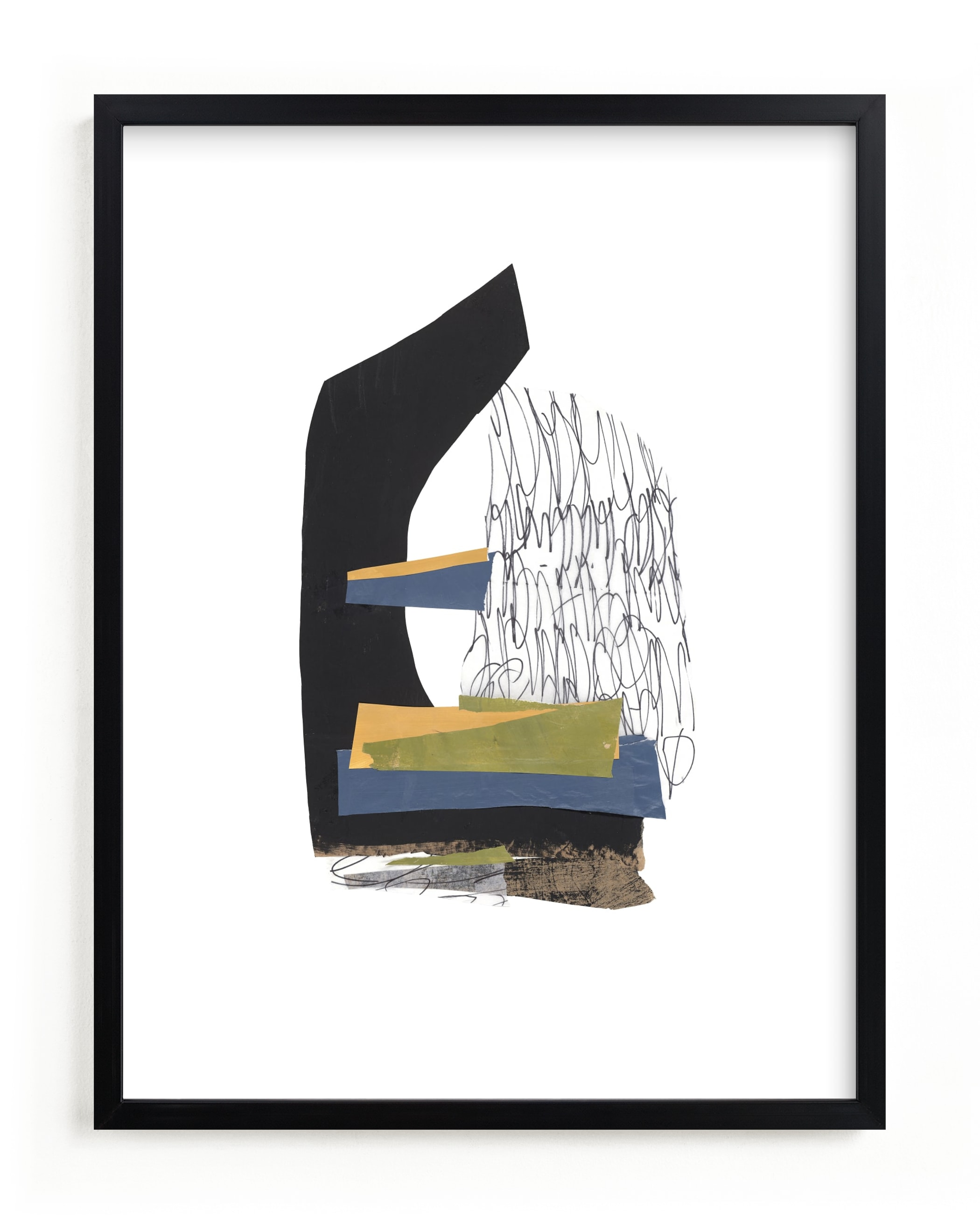 """""""Stacked Up"""" - Limited Edition Art Print by Pippin Schupbach in beautiful frame options and a variety of sizes."""