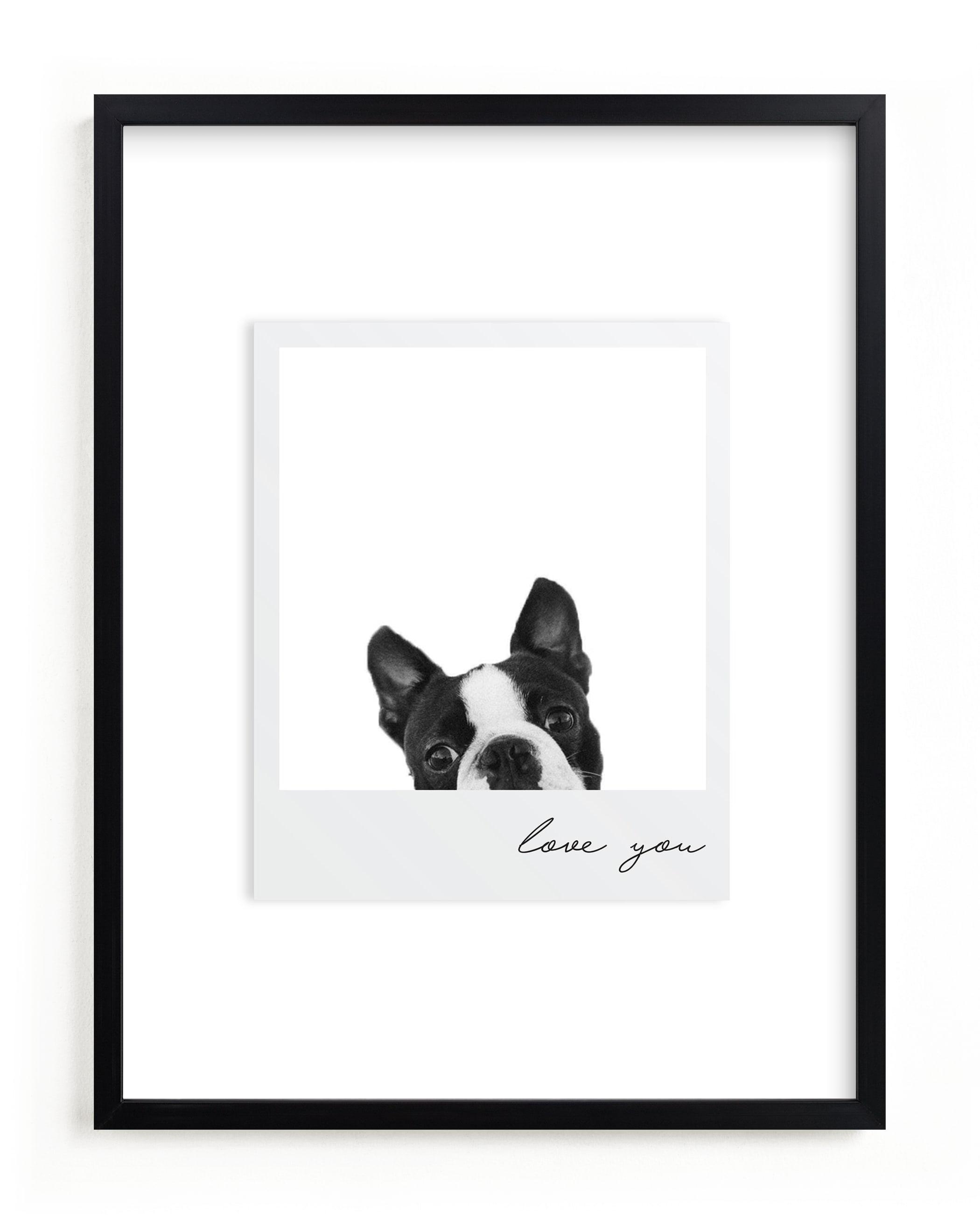 Polaroid Snap Custom Photo Art Print