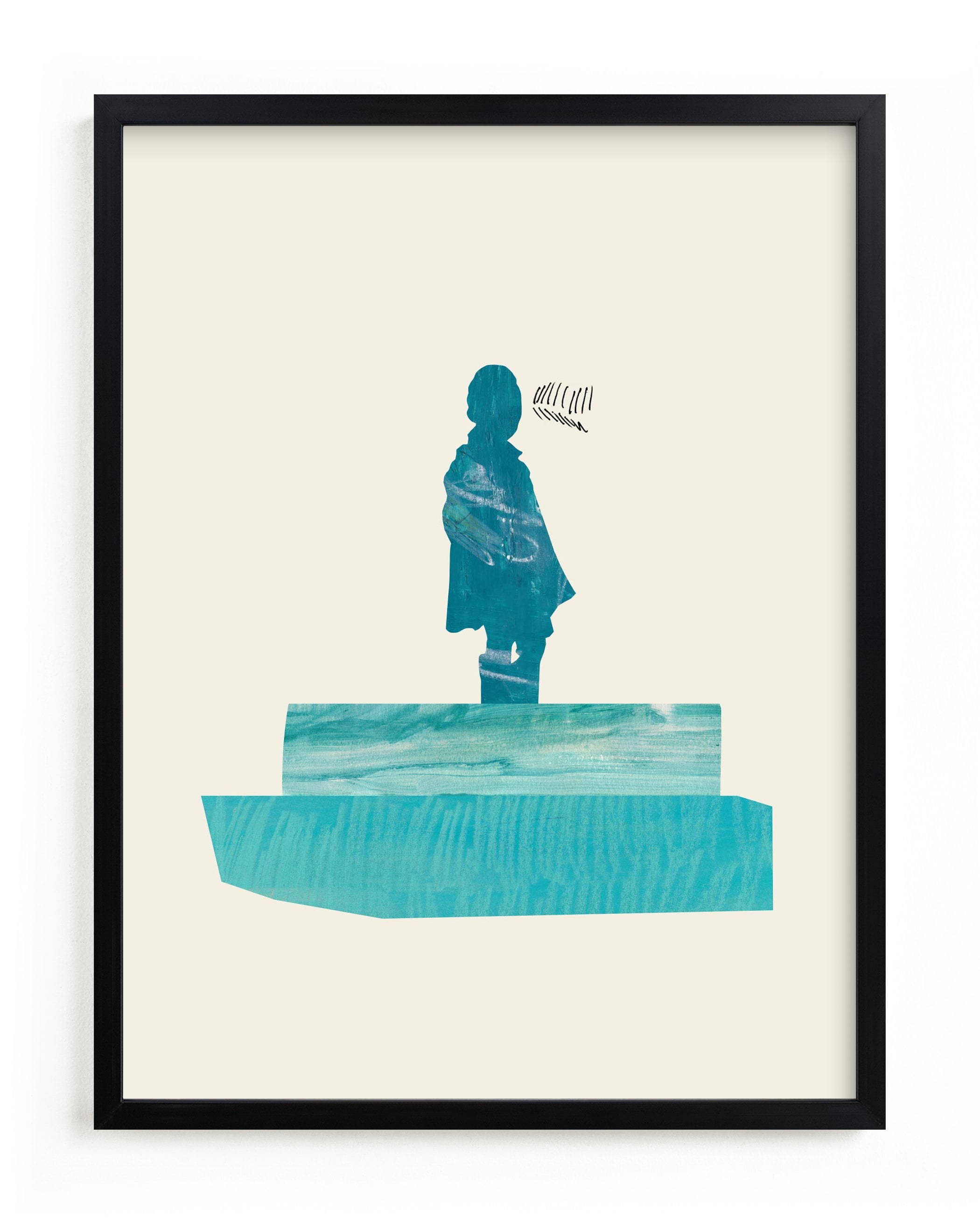 """""""View of the Water"""" - Limited Edition Art Print by Field and Sky in beautiful frame options and a variety of sizes."""